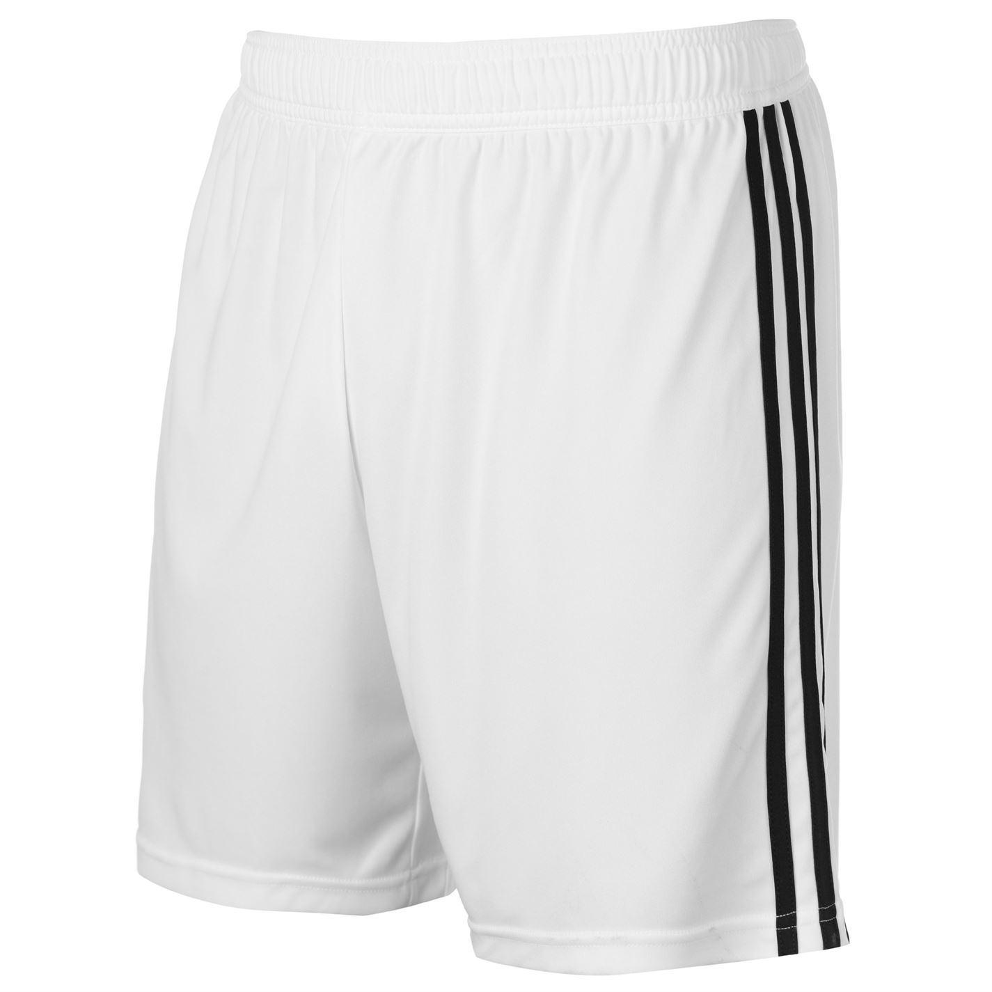 bec926085 ... adidas Real Madrid Home Shorts 2018 19 Mens White/Black Football Soccer  ...