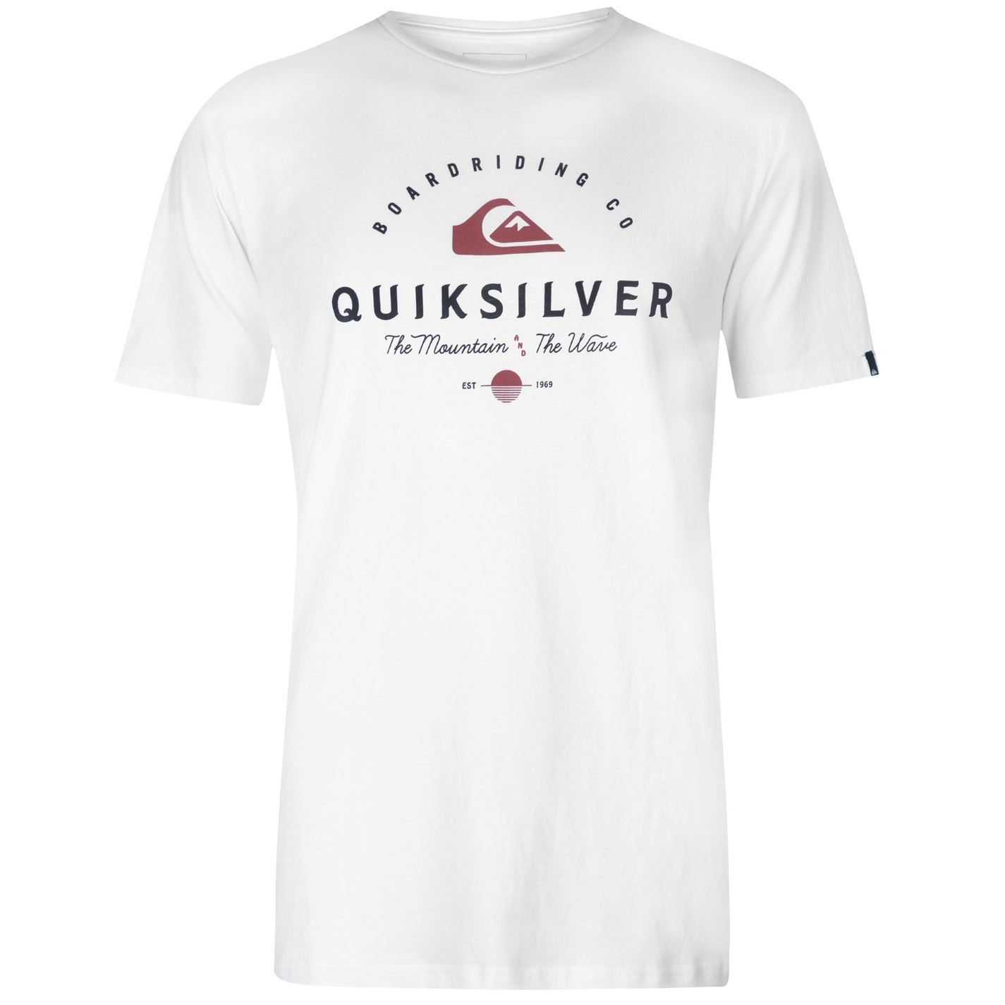 Quiksilver-Working-Man-T-Shirt-Mens-Tee-Shirt-Top thumbnail 10