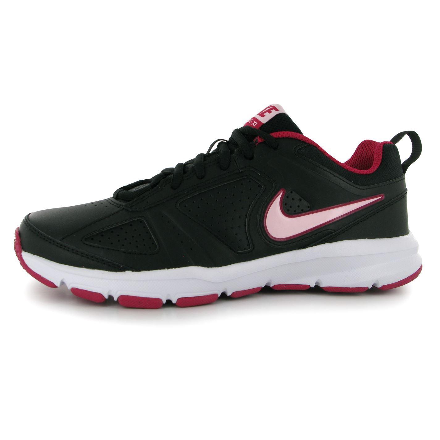 Nike trainers t lite xi women s sneakers sports runing shoes black - Nike T Lite Xi Shoes Trainers Womens Black Pink Sneakers