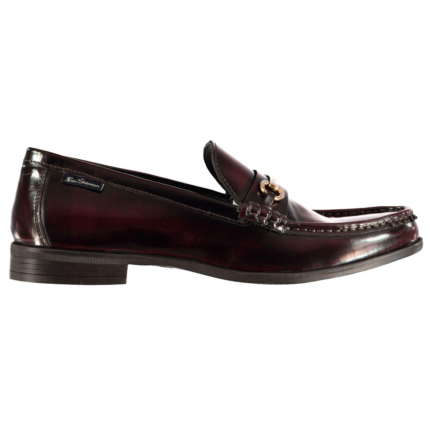 Ben-Sherman-Luca-Loafers-Slip-On-Shoes-Mens-Formal-Footwear-Flats thumbnail 9