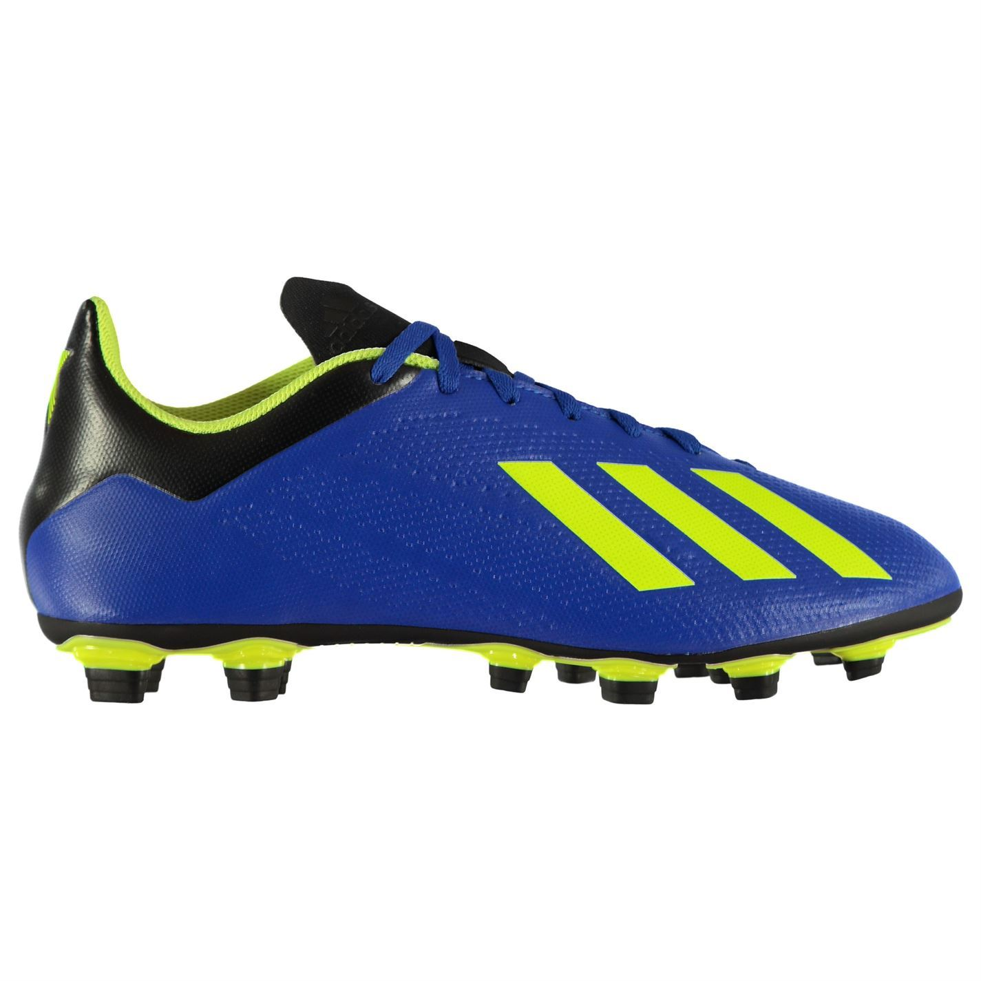 9158153d579 adidas X 18.4 FG Firm Ground Football Boots Mens Blue Soccer Shoes Cleats