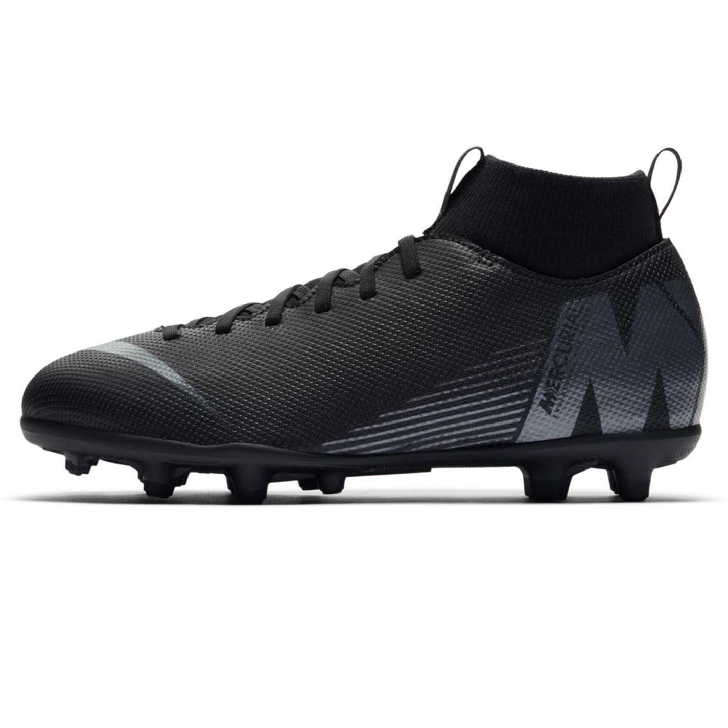 Nike-MERCURIAL-SUPERFLY-Club-DF-TERRA-FERMA-SCARPE-DA-CALCIO-JUNIOR-CALCIO-Cunei miniatura 3