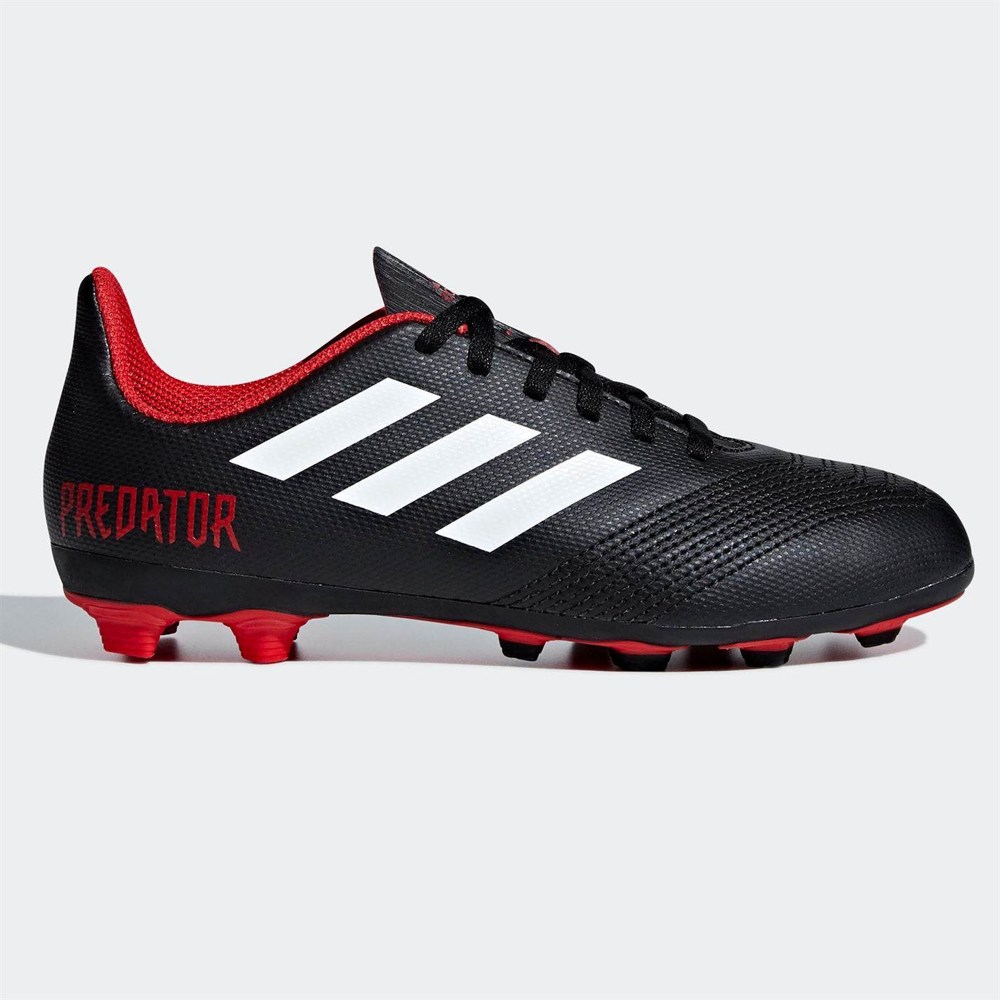 promo code c93c8 4860d ... adidas Predator 18.4 FG Firm Ground Football Boots Childs Soccer Shoes  Cleats