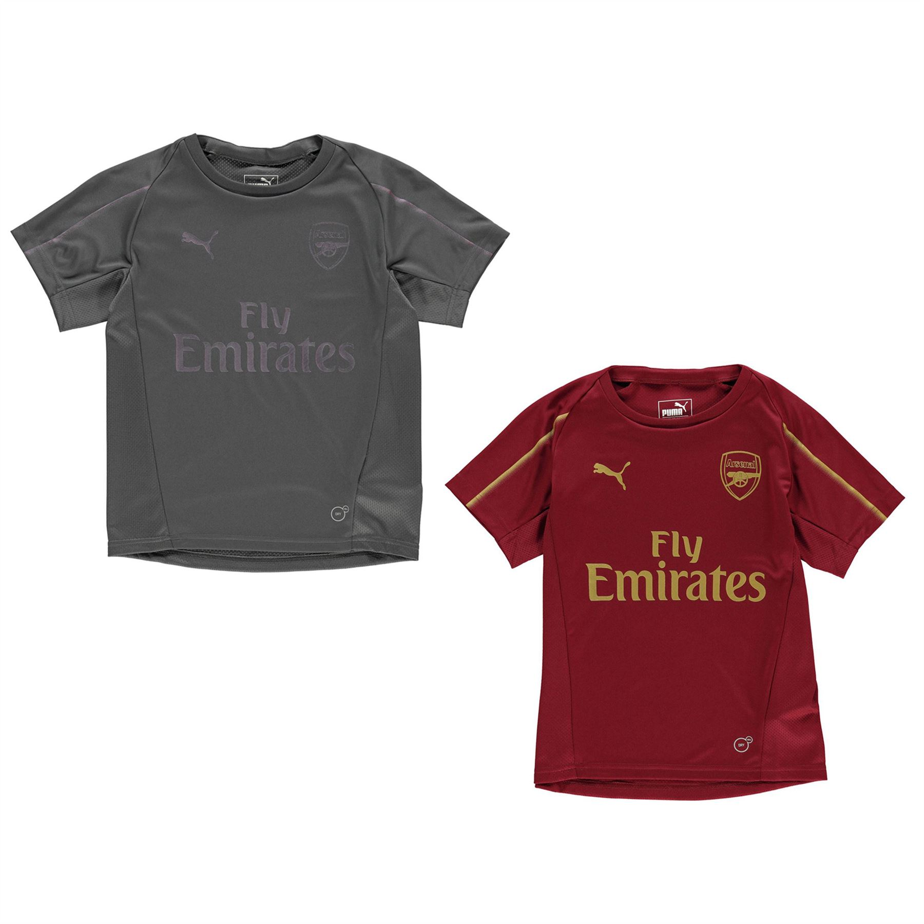b5cd696df Puma Arsenal Training Jersey 2018 2019 Juniors Football Soccer Fan Top Shirt