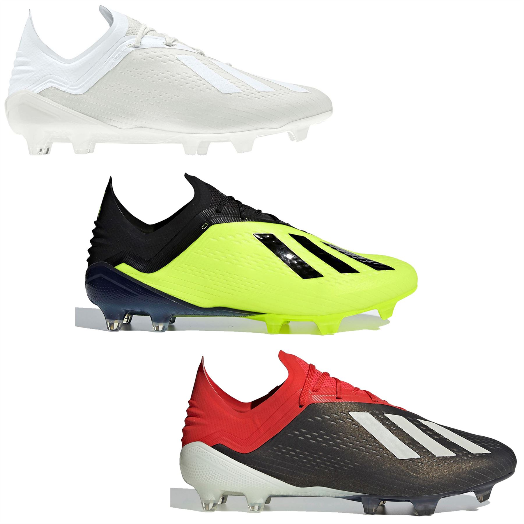 03c80c4aa ... adidas X 18.1 FG Firm Ground Football Boots Mens Soccer Shoes Cleats ...
