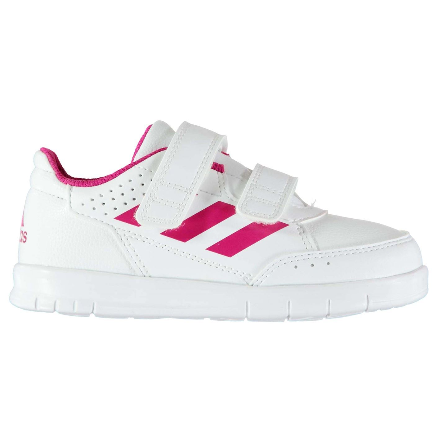 Details about adidas Alta Sport Infant Girls Trainers Shoes Footwear