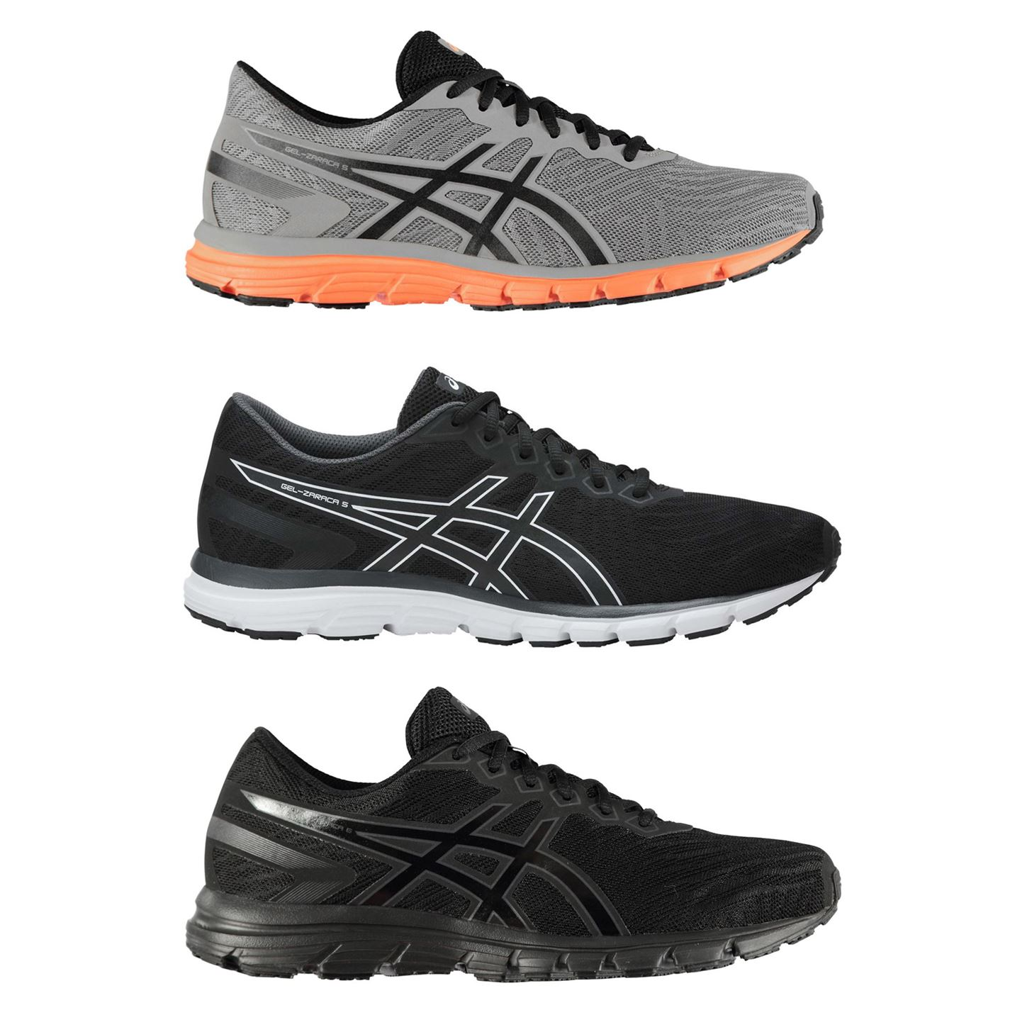 Details about Asics Gel Zaraca 5 Mens Running Shoes Trainers Footwear Sneakers
