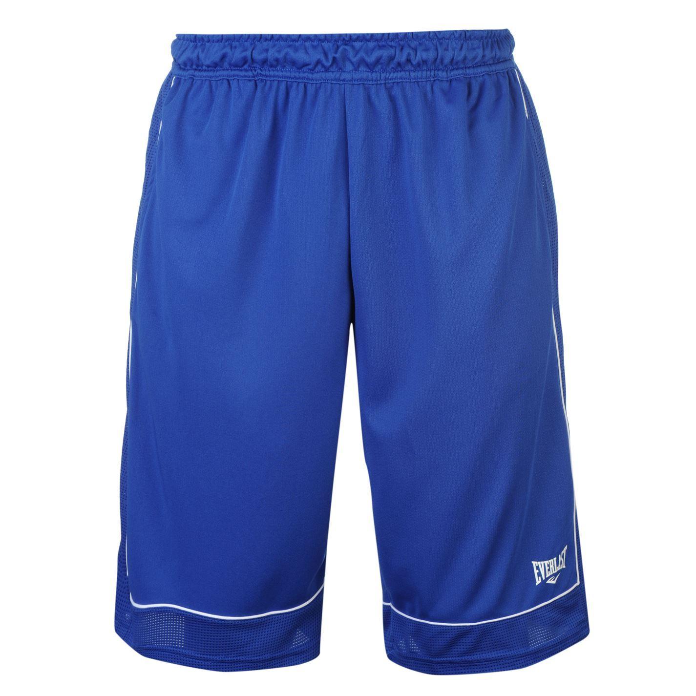 Everlast Basketball Shorts Mens Blue White Sportswear Short Ebay