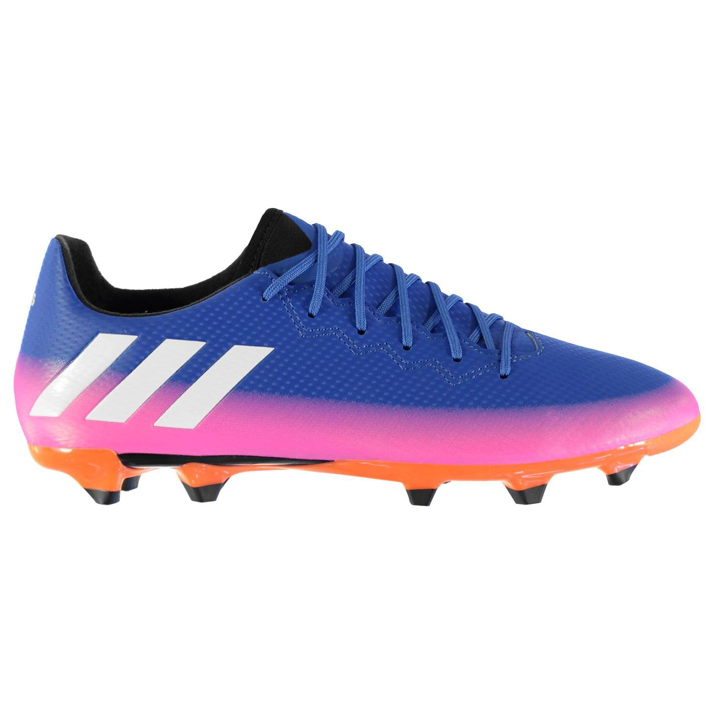 ... adidas Messi 16.3 FG Firm Ground Football Boots Mens Blu Wht Or Soccer  Shoes ... ab10c7c1d0e
