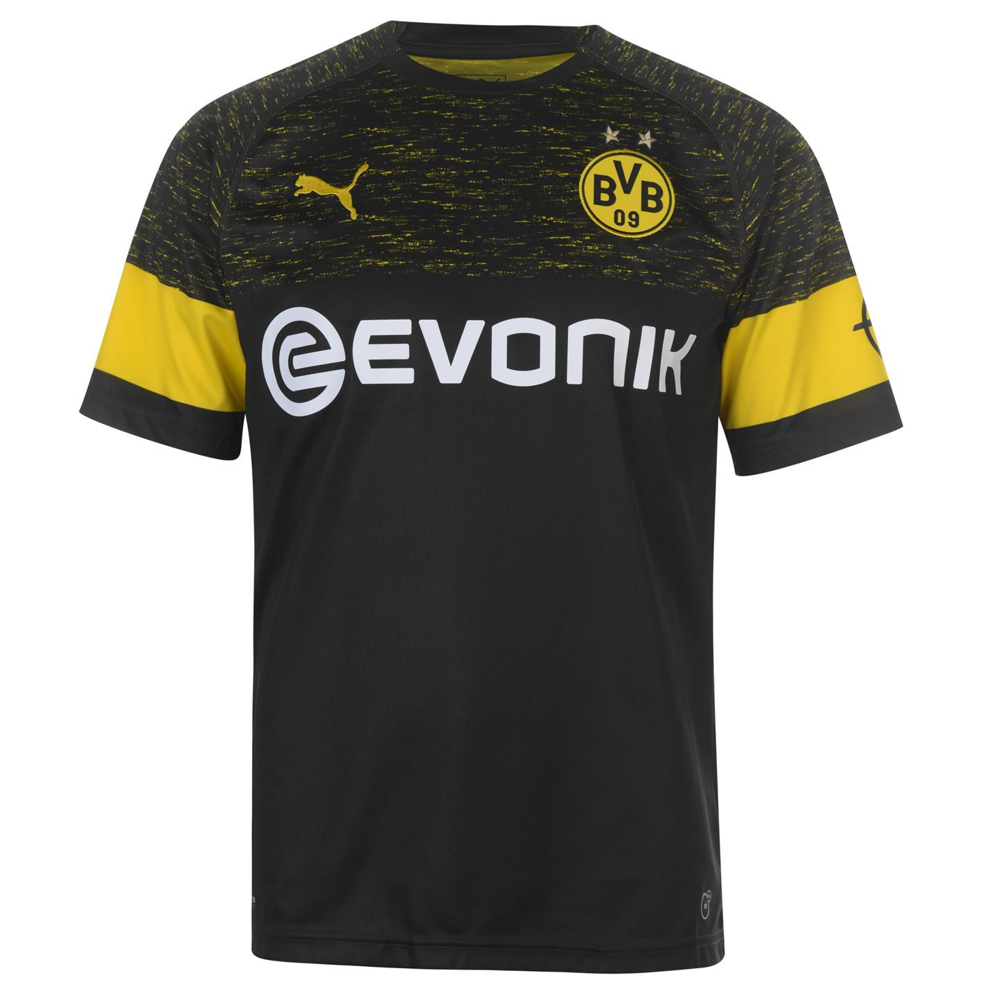 ... Puma Borussia Dortmund Away Jersey 2018 19 Mens Black Football Soccer  Shirt Top ... e09e00985