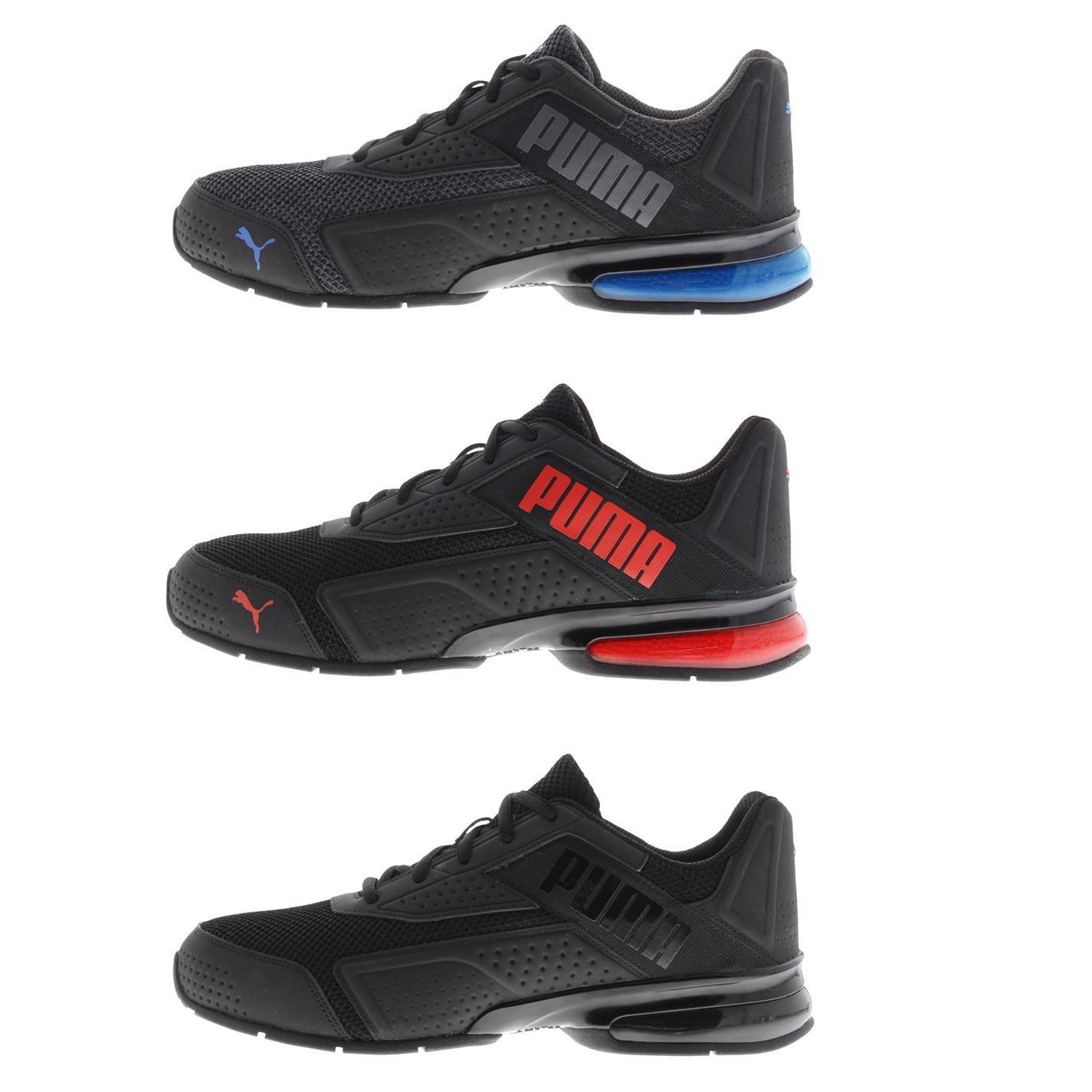 Details about Puma Leader VT Nubuck Mens Trainers Shoes Running Footwear Sneakers