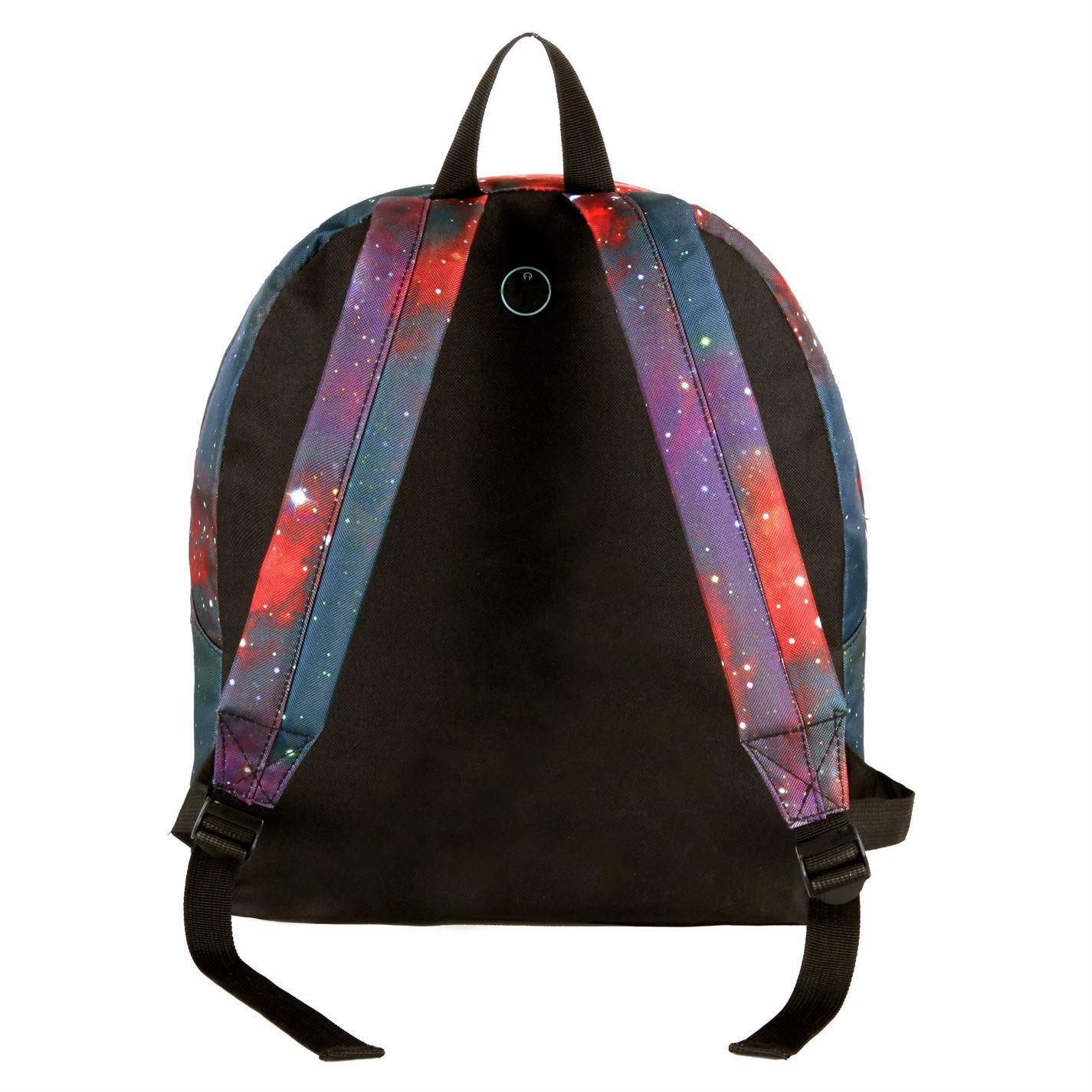 b881aaf128 Hot Tuna Galaxy Backpack Black Red Bag Holdall Carryall Rucksack Knapsack