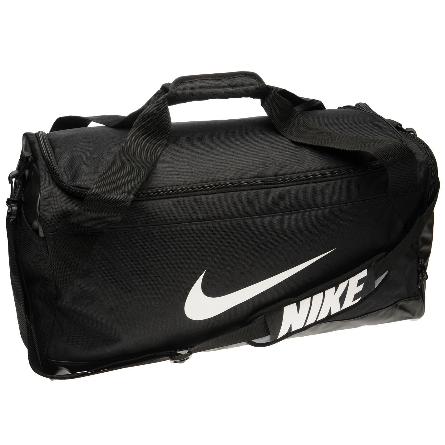 001f30e03d ... Sport Nike Brasilia Medium Holdall nero palestra Kit Borsa Carryall ...