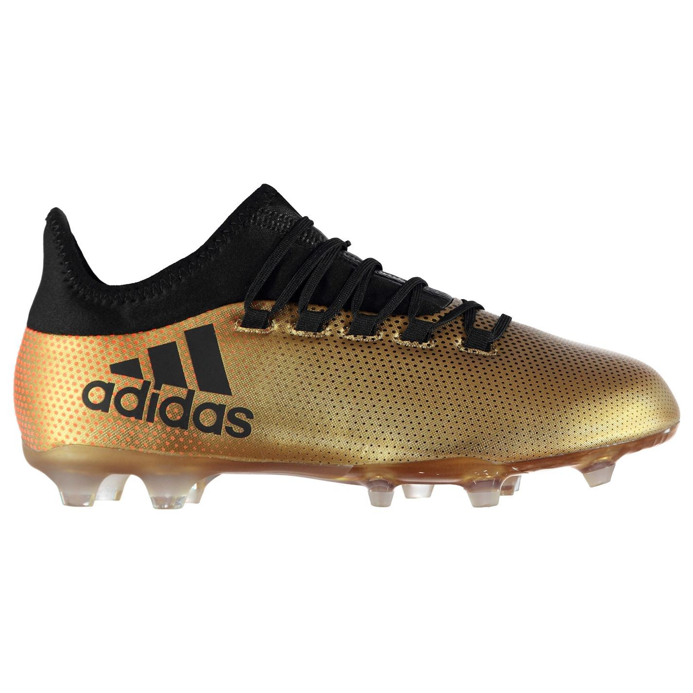 hot sales 3abab ca27d ... adidas X 17.2 FG Firm Ground Football Boots Mens Gold Black Soccer  Shoes Cleats ...