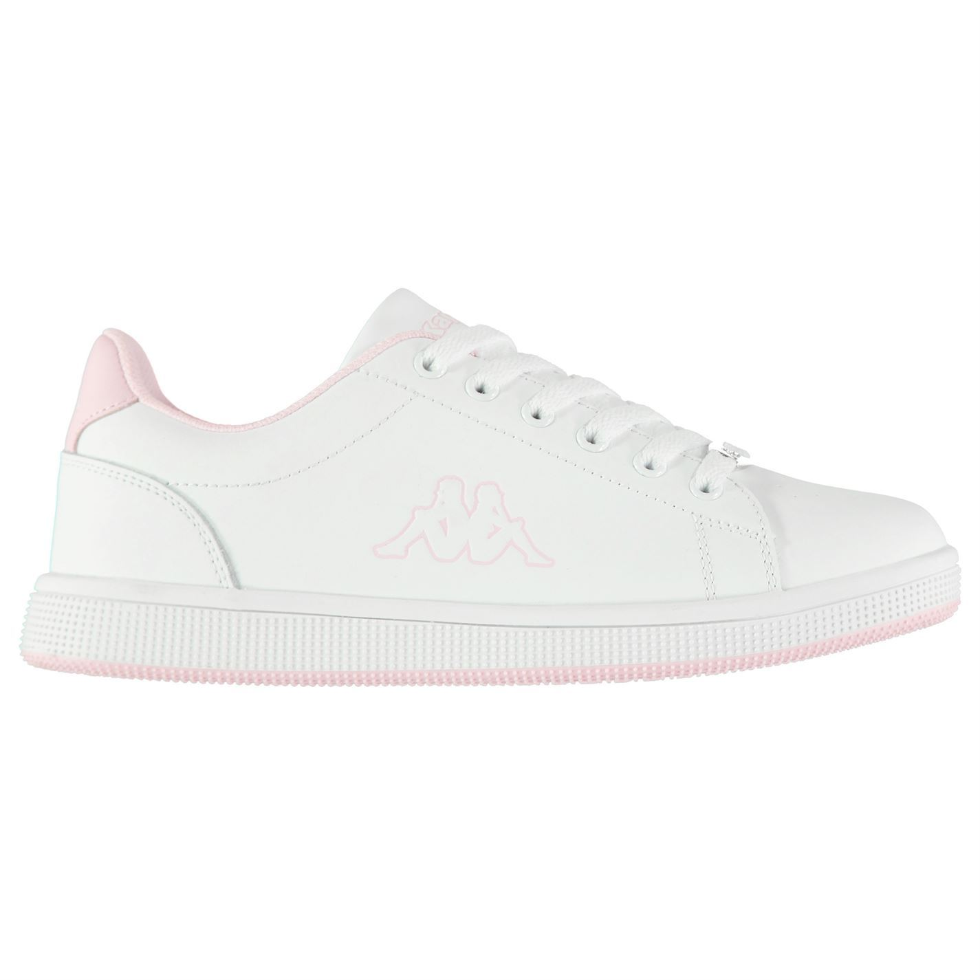 Details about Kappa Maresas DLX Trainers Womens WhitePink Sports trainers Sneakers
