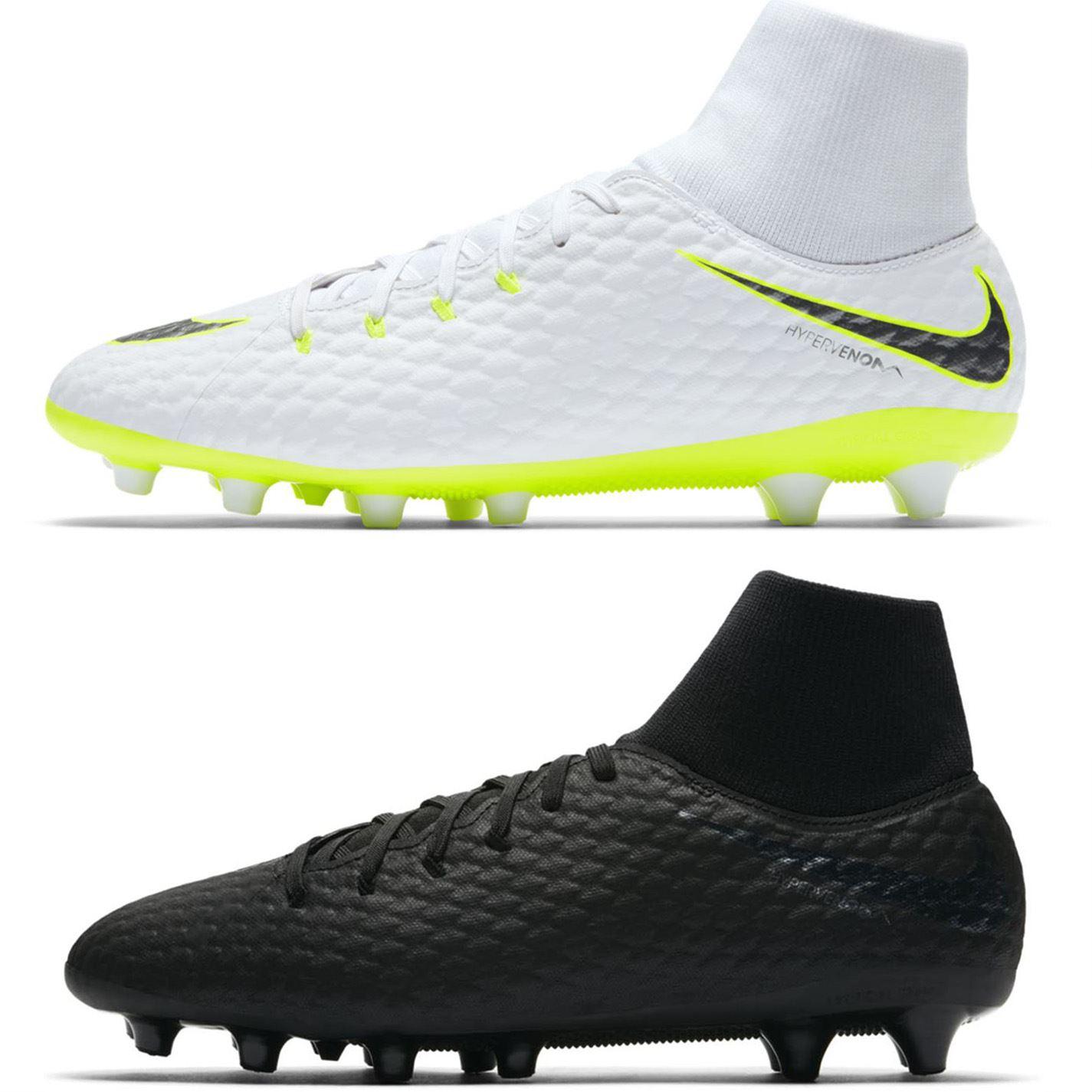 half off 19c56 d9d6c ... Nike Hypervenom Phantom 3 Academy DF AG Football Boots Mens Soccer Shoes  Cleats ...