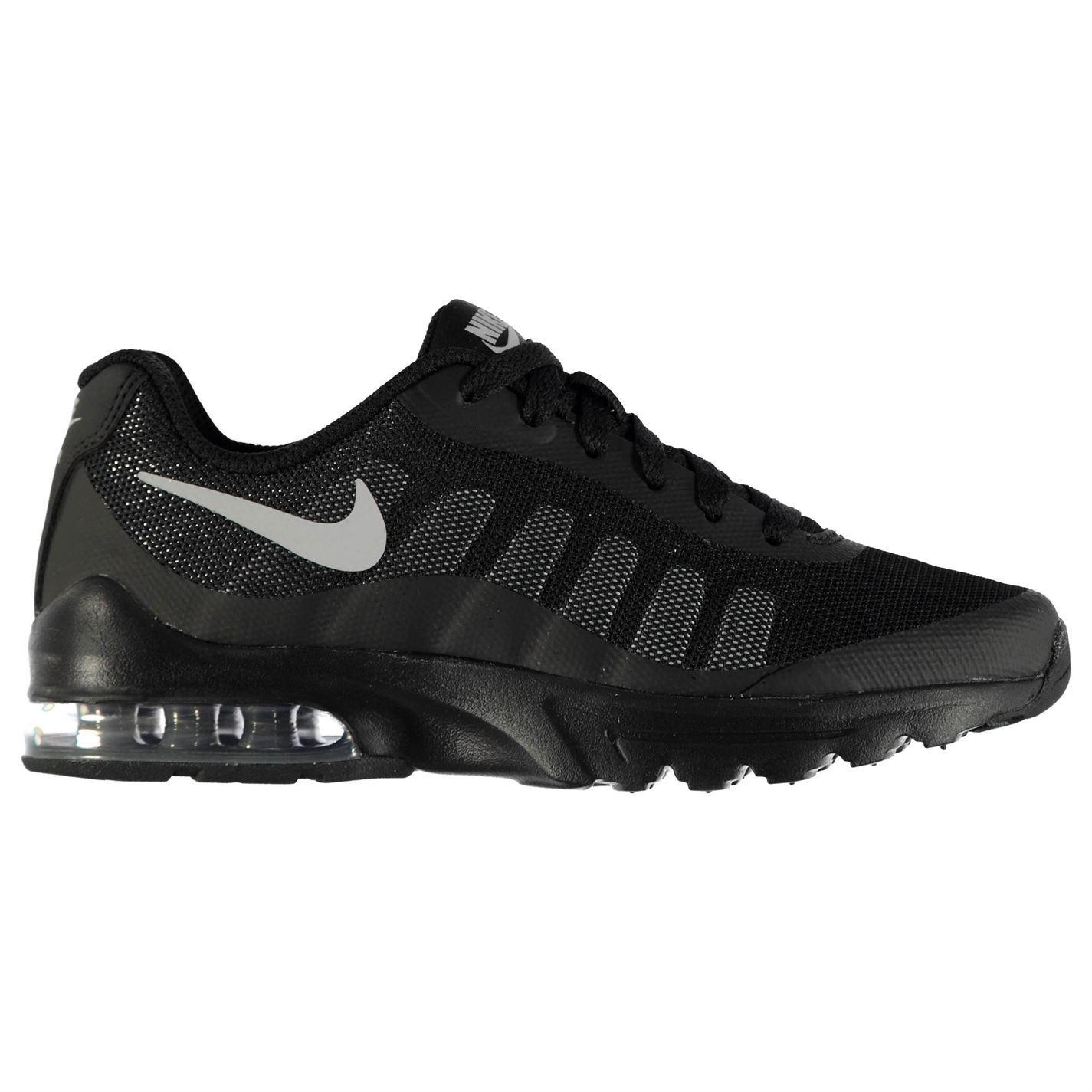 ec8004bf2ebd Nike Air Max Invigor Trainers Junior Boys Shoes Footwear