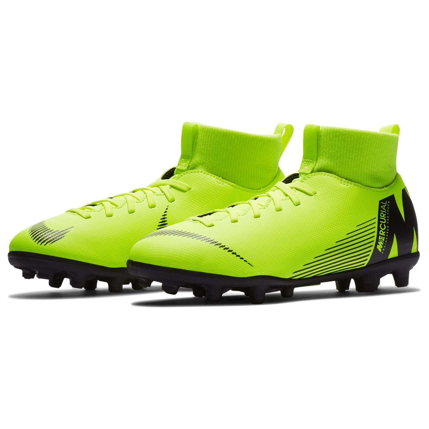 Nike-MERCURIAL-SUPERFLY-Club-DF-TERRA-FERMA-SCARPE-DA-CALCIO-JUNIOR-CALCIO-Cunei miniatura 12