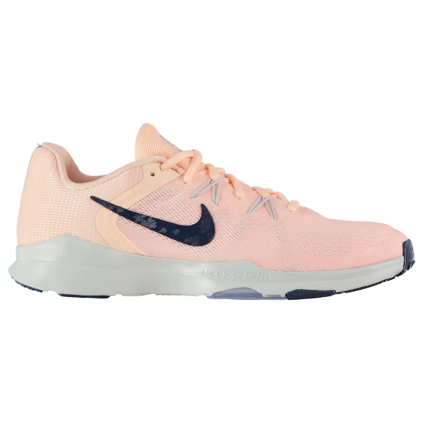 Dettagli su Nike Zoom Condizioni 2 Scarpe da Ginnastica Donna Rosa Palestra Fitness Sportive
