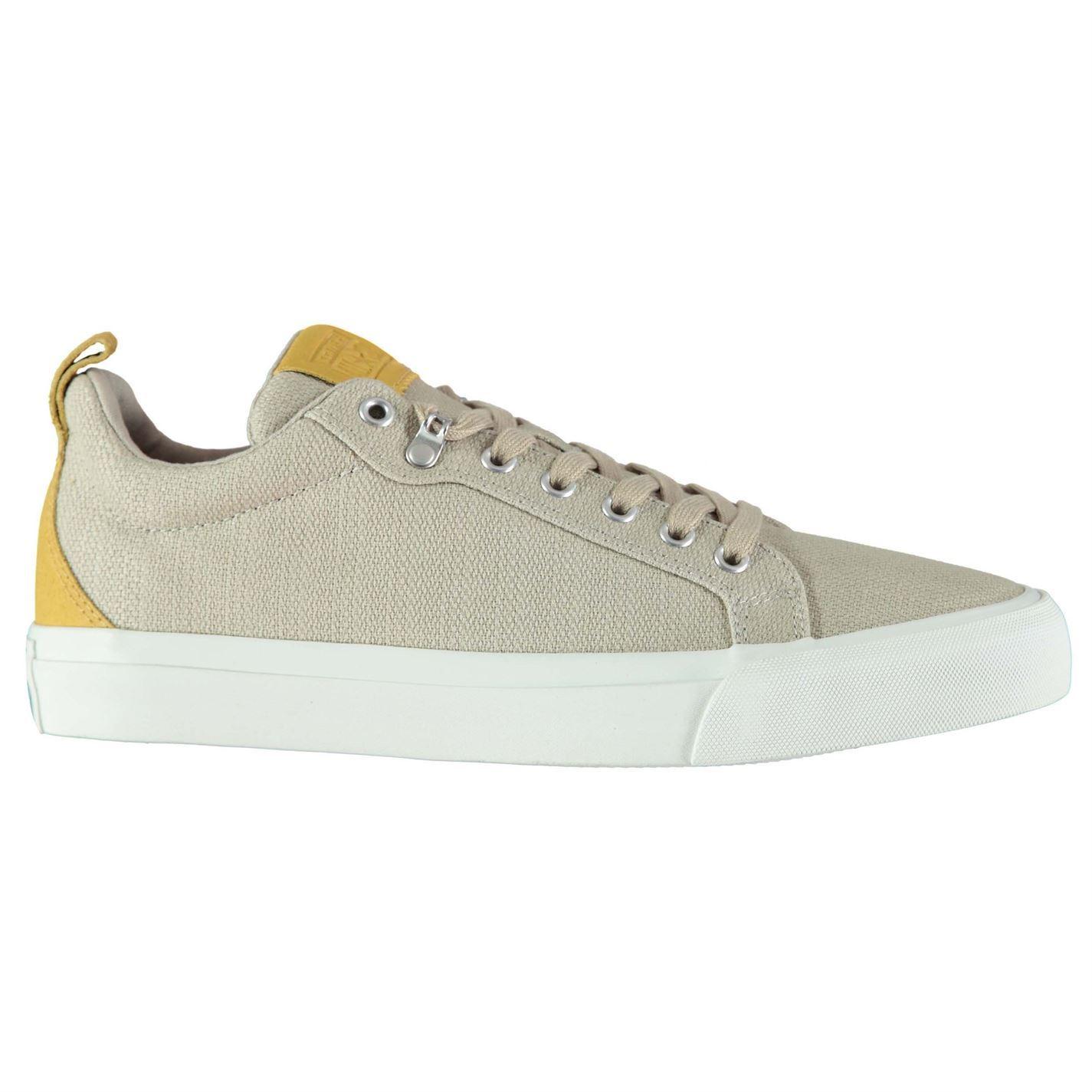 9d9e59466141 ... Converse Fulton Lo Canvas Shoes Mens Beige Footwear Trainers Sneakers  ...