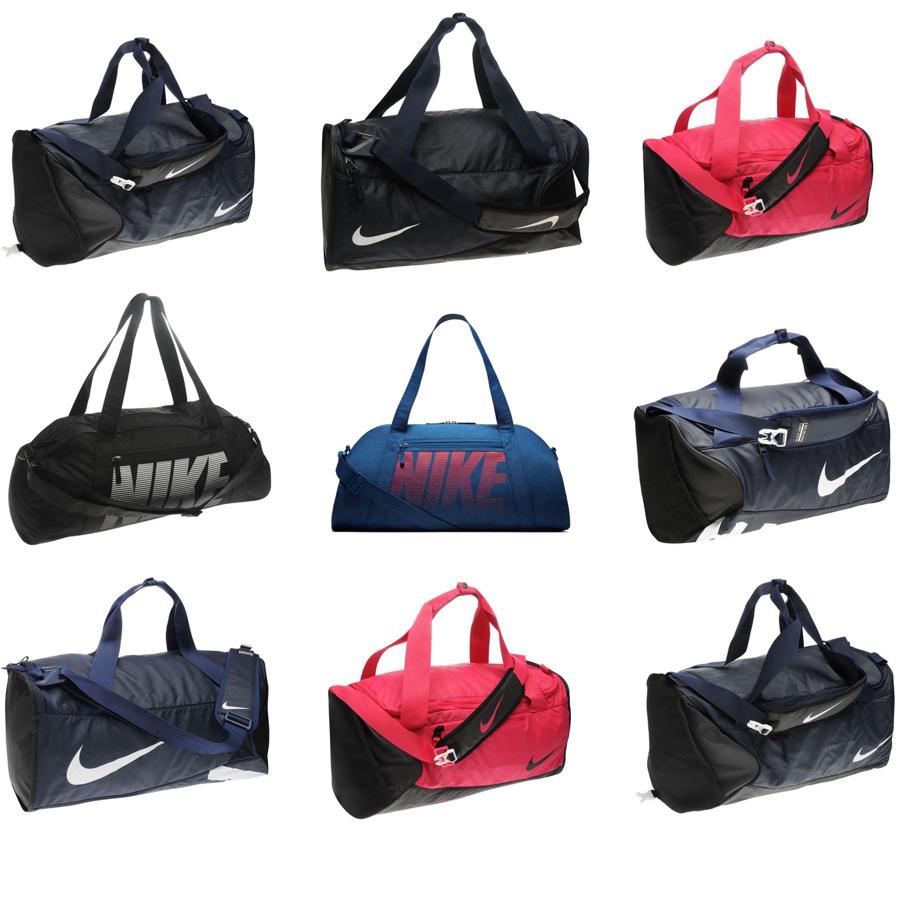 3cefb5e83c20 Details about Nike Duffel Bag Carryall Holdall Barrel Bag Daybag Kitbag  Gymbag