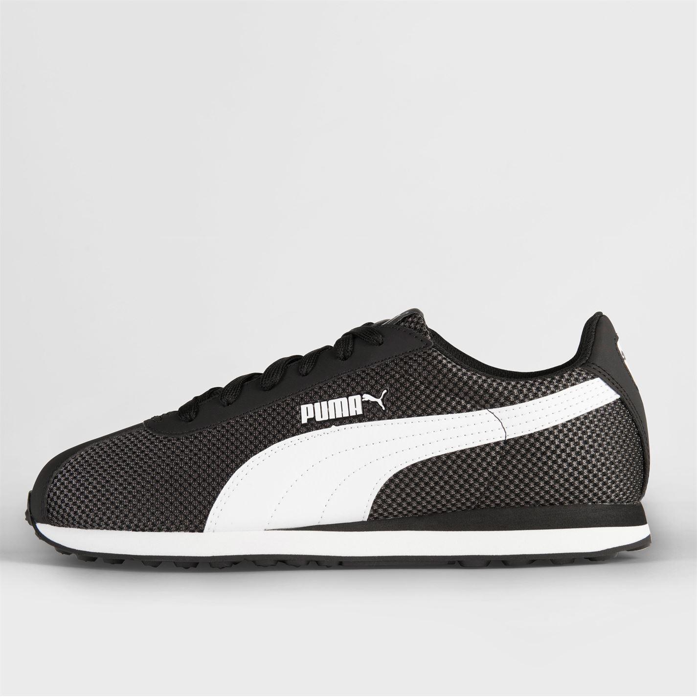 Black White Puma Turin Mesh Uomo Scarpe da ginnastica