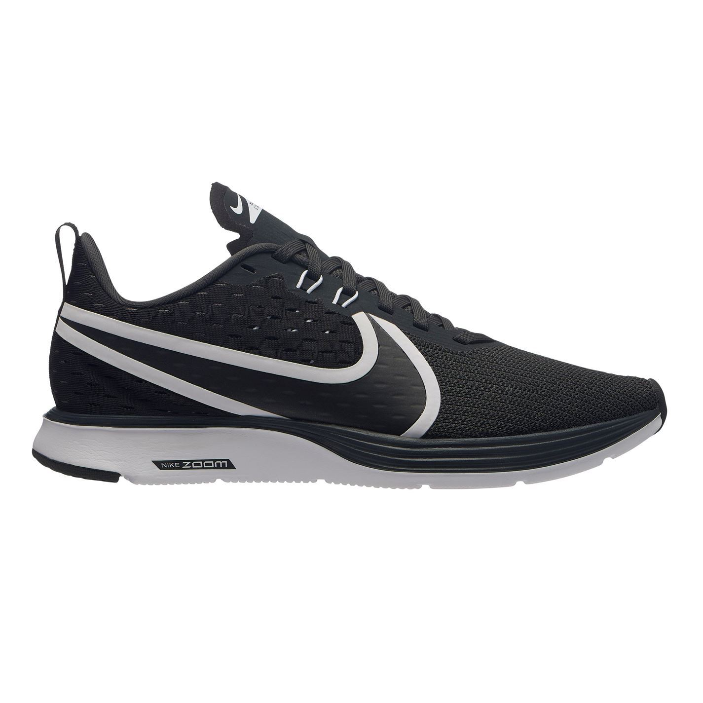 Details about Nike Zoom Strike 2 Running Shoes Womens BlackWhite Fitness Trainers Sneakers