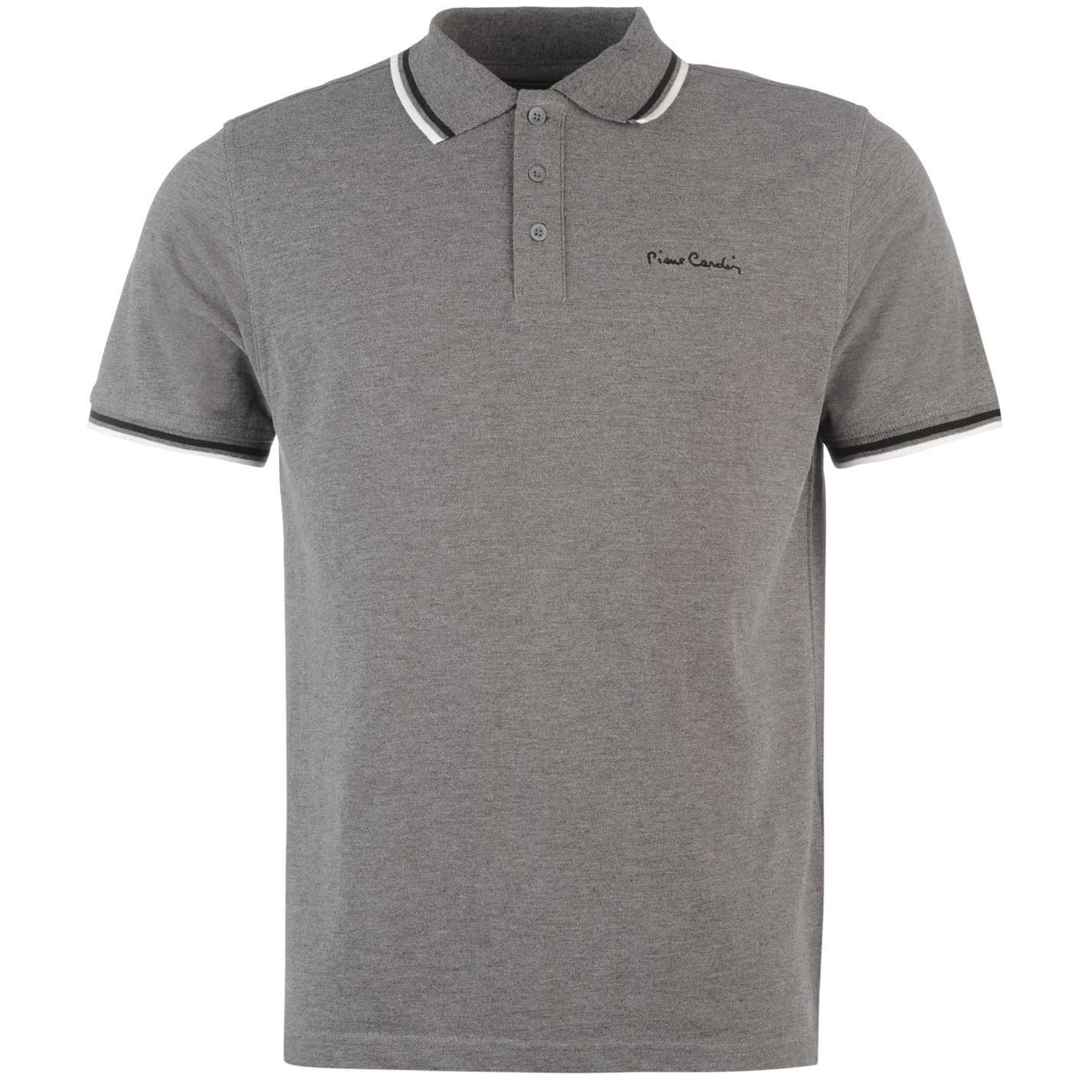 Pierre-Cardin-Tipped-Polo-Shirt-Mens-Top-Tee-Casual-Collar-T-Shirt thumbnail 3