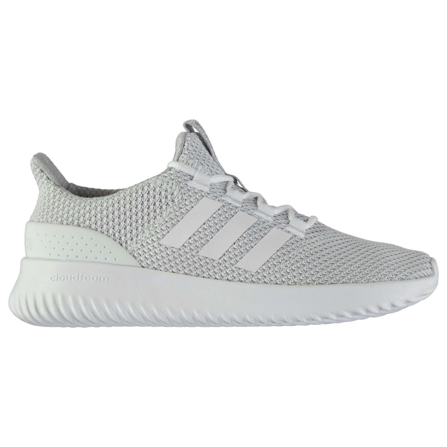 4dd822f0687 ... adidas Cloudfoam Ultimate Trainers Mens White Athletic Sneakers Shoes  ...