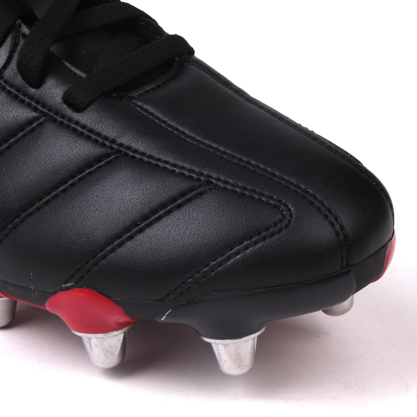 ca20ea785340 Patrick Power X Mens Rugby Union Boots Black White Trainers Footwear ...