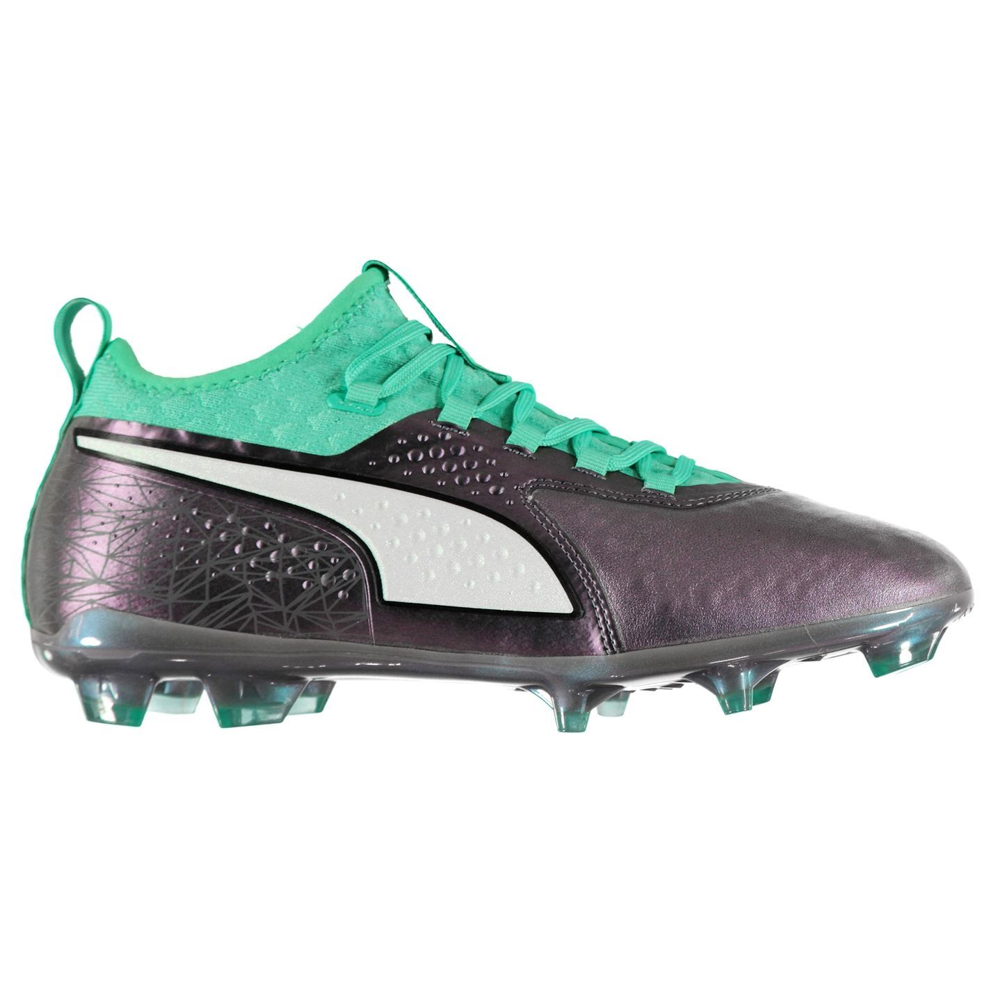 8f67a21e5999 ... Puma ONE 2 FG Firm Ground Football Boots Mens Soccer Shoes Cleats ...