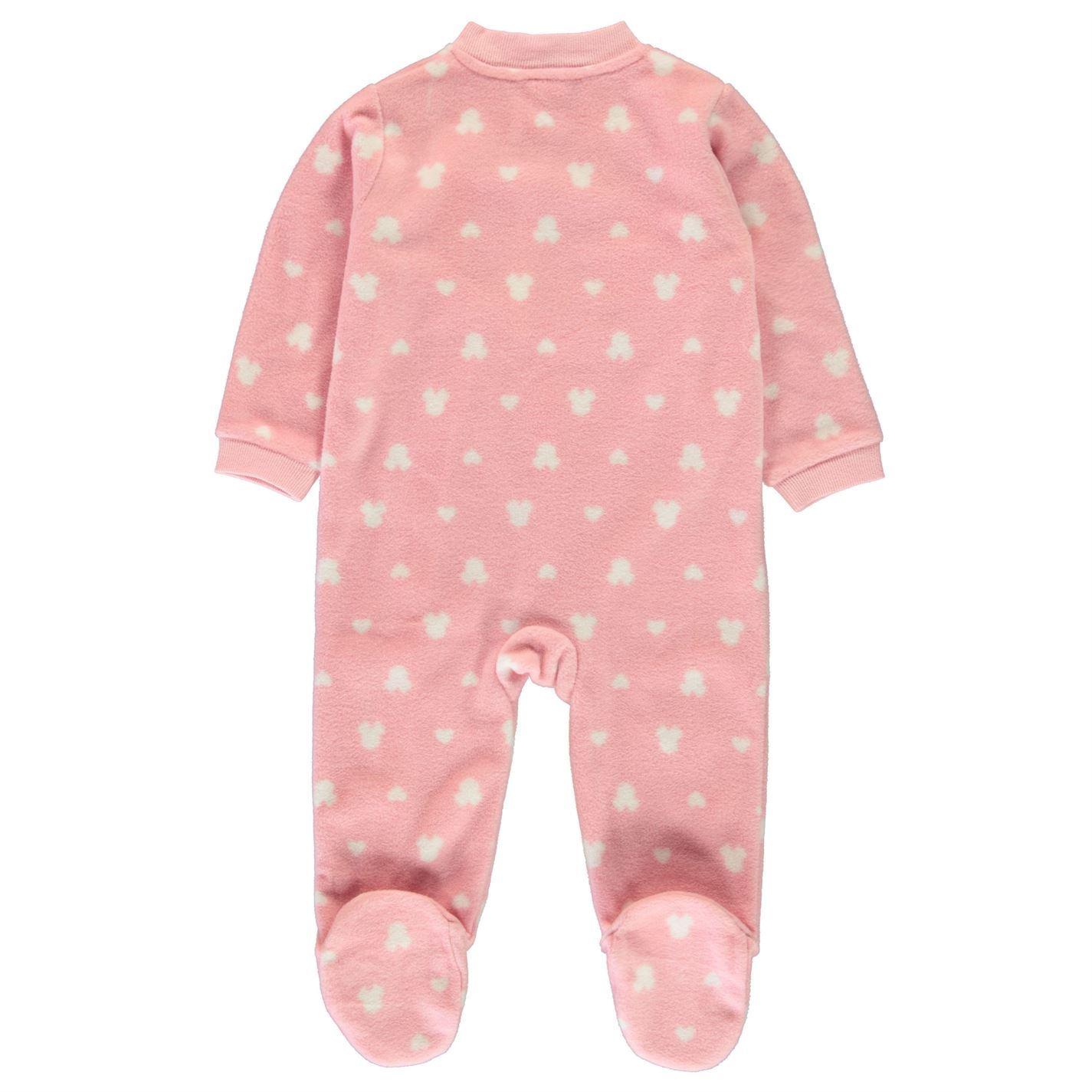 627c10e23b ... Minnie Mouse Einteiliger Schlafanzug Baby Mädchen Charakter Tragen Pink  All in One
