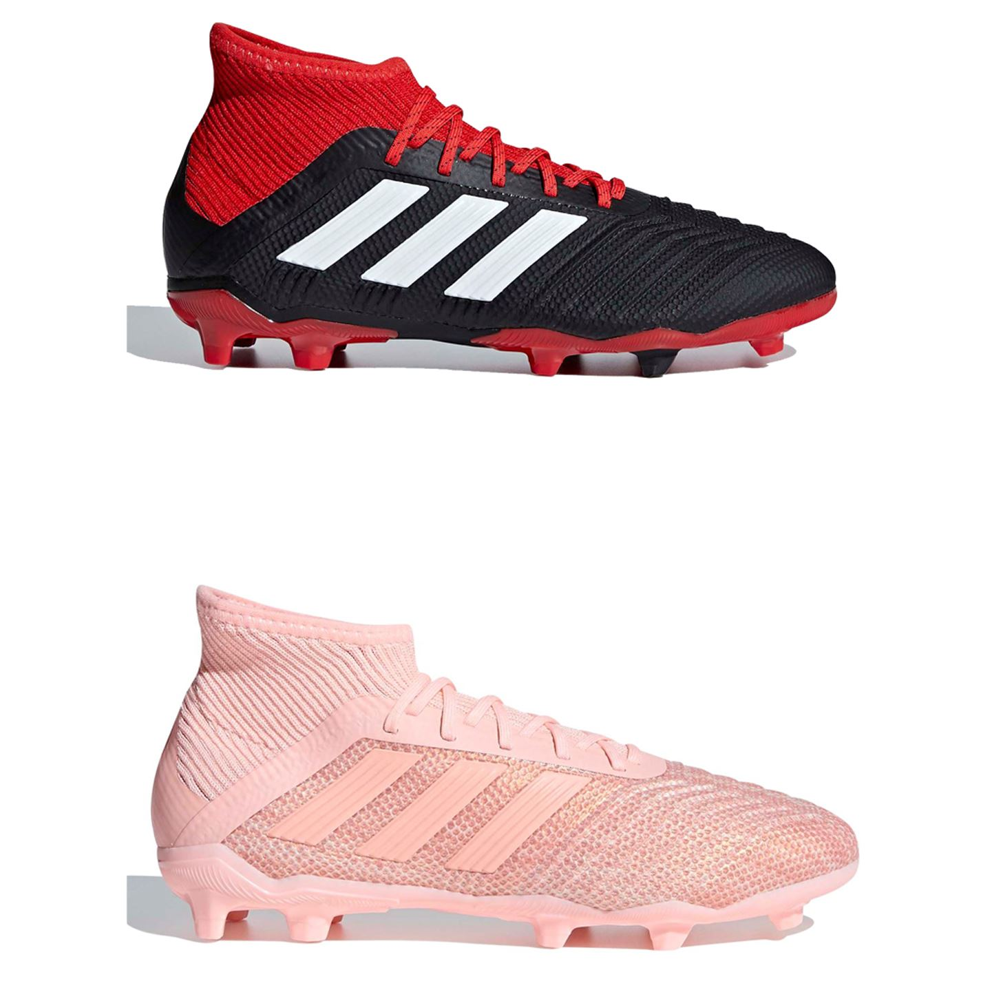 e5c60c47540 ... adidas Predator 18.1 FG Firm Ground Football Boots Childs Soccer Shoes  Cleats ...