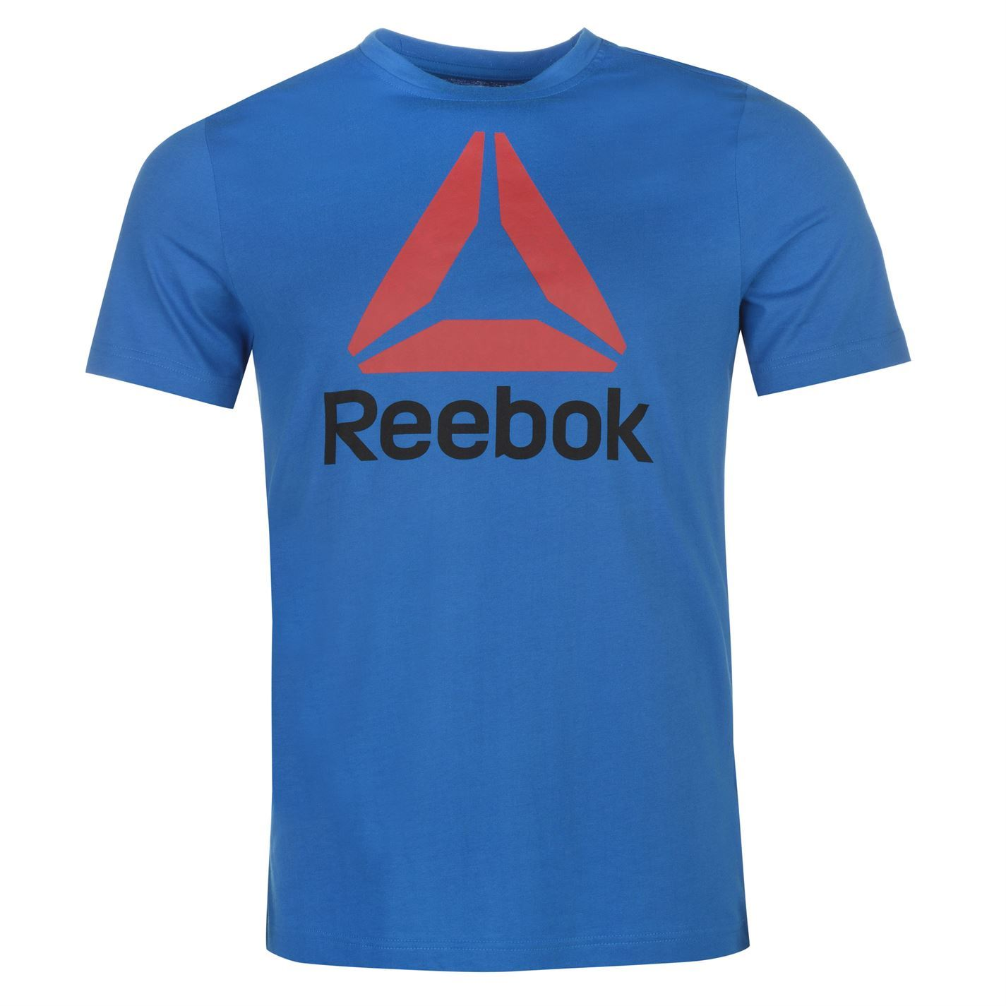 Reebok-Stack-Delta-Logo-T-Shirt-Mens-Tee-Shirt-Top thumbnail 8