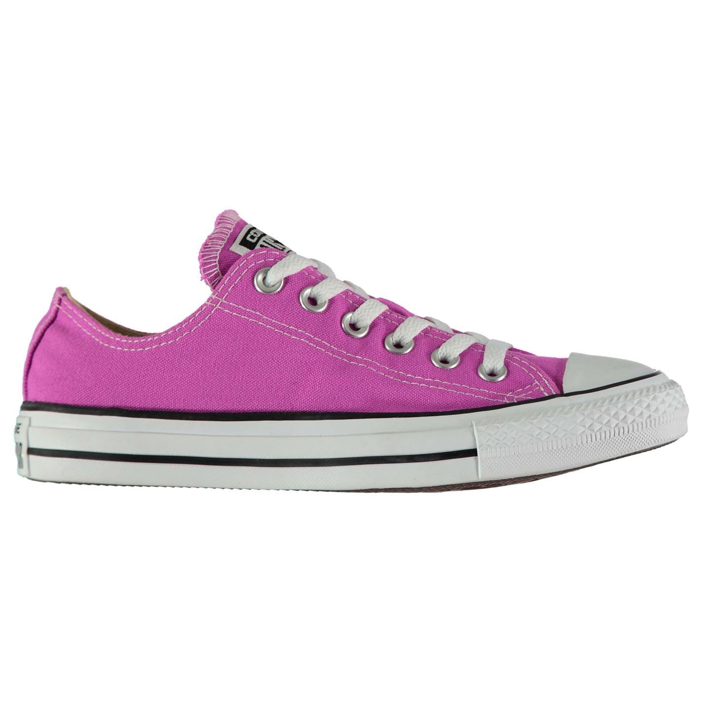 aac3234c3dc6 ... Converse All Star Seasonal Ox Trainers Womens Athleisure Sneakers Shoes  Footwear