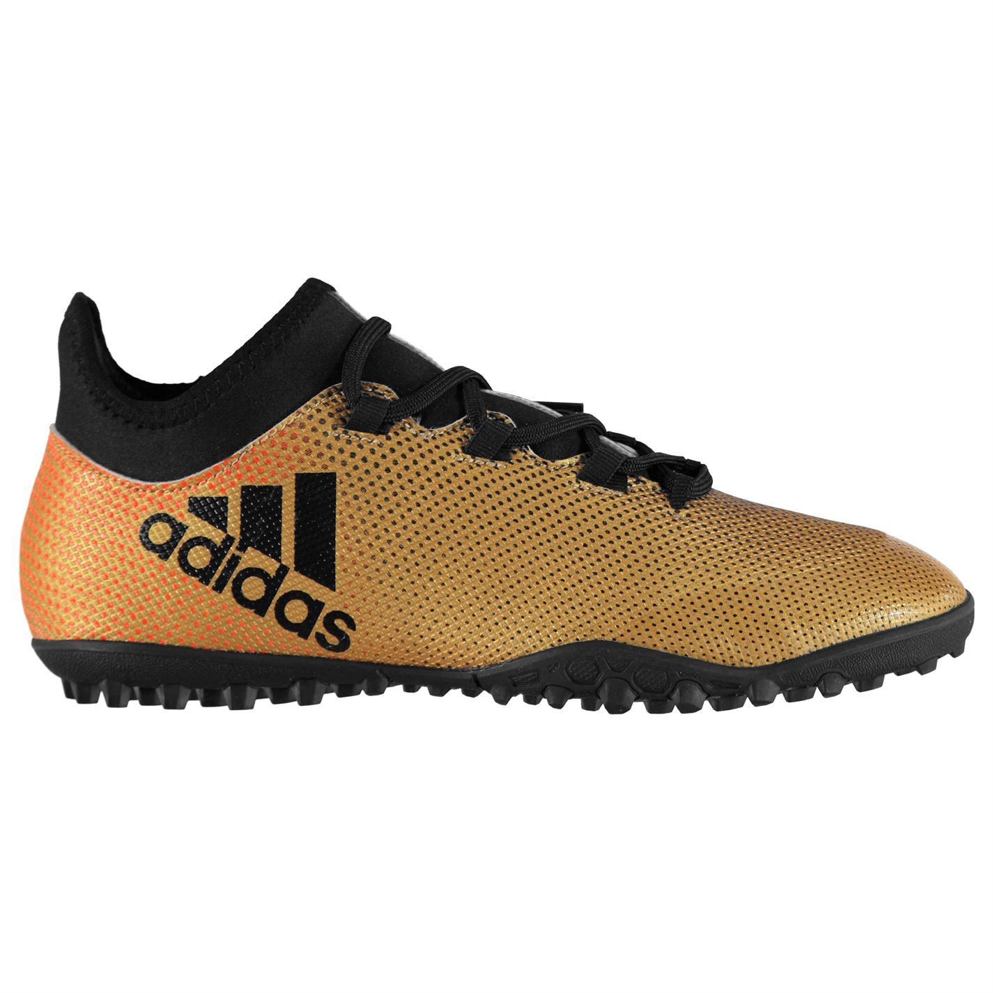 new product 99631 ea1cb ... adidas X Tango 17.3 Astro Turf Football Trainers Mens Gold Black Soccer  Shoes ...