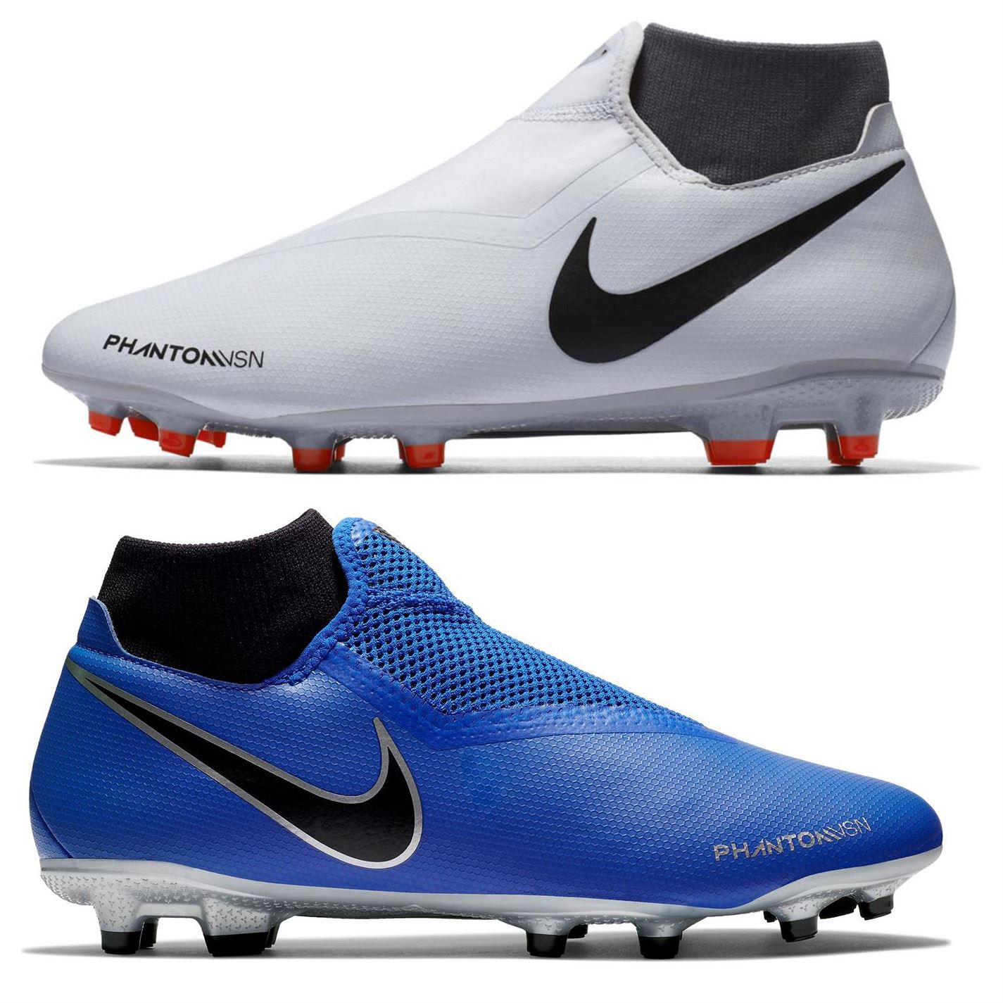 best sneakers be21b 6da8f ... Nike Phantom Vision Academy DF FG Firm Ground Football Boots Mens Soccer  Cleats ...