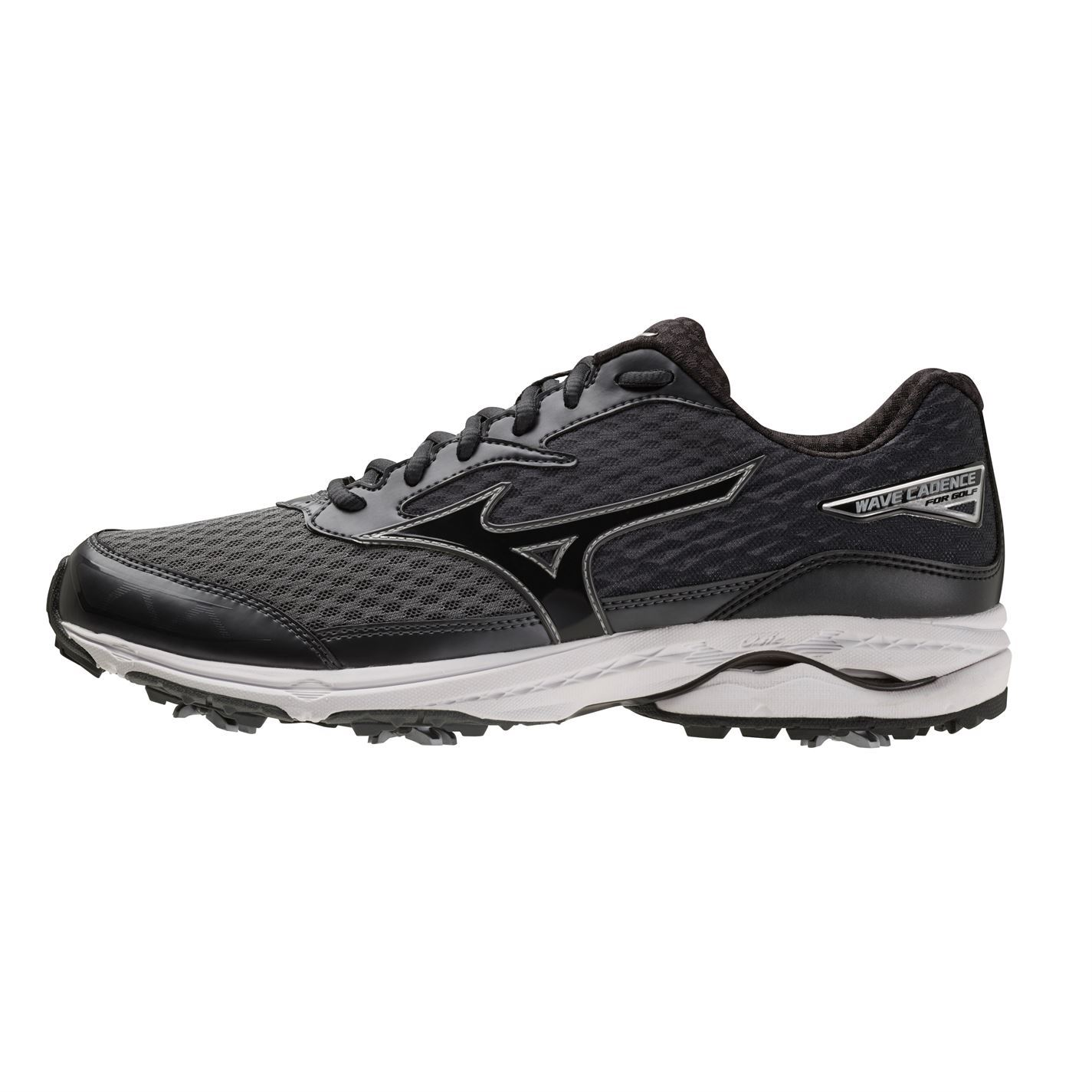 Mizuno-Wave-Cadence-Golf-Shoes-Mens-Spikes-Footwear thumbnail 4