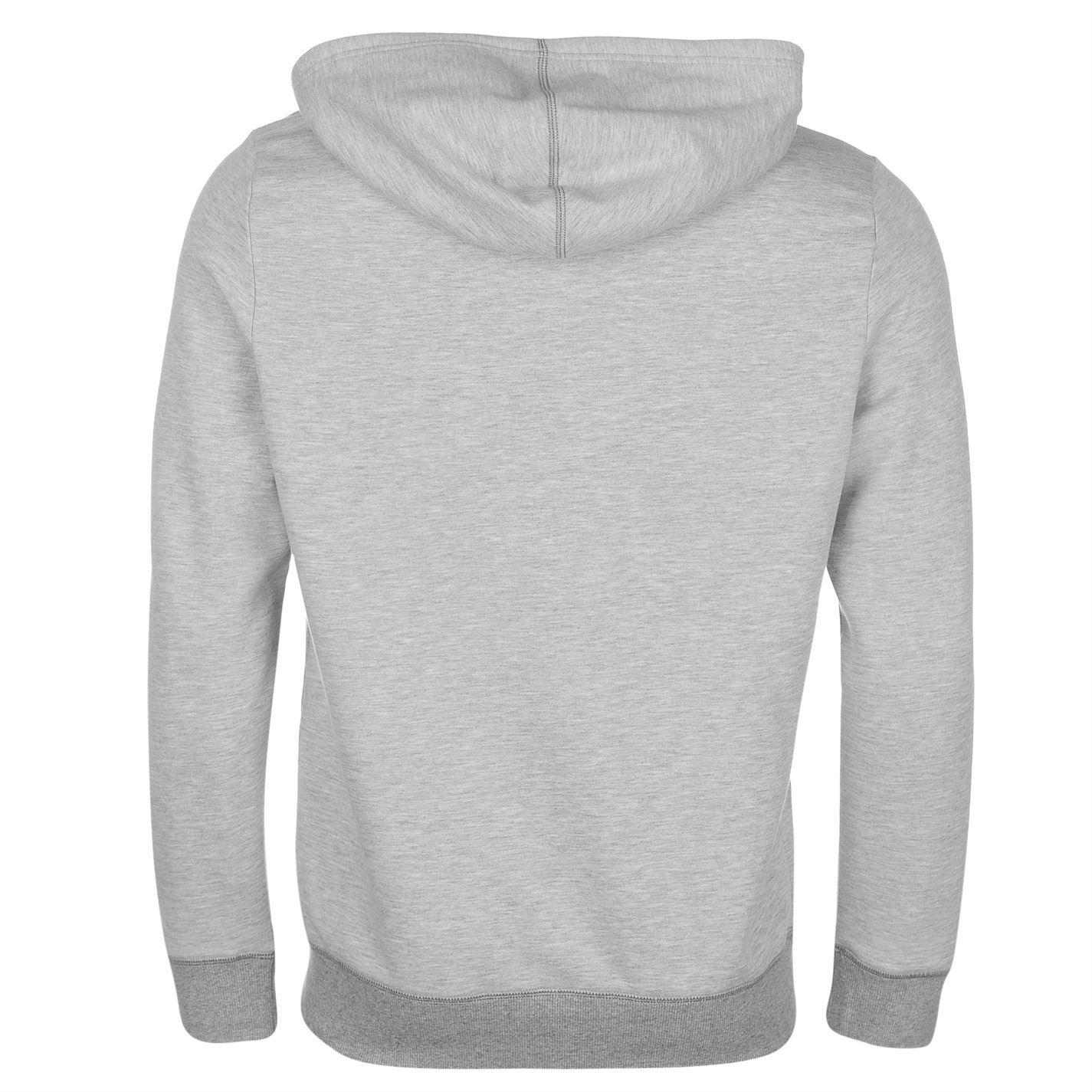 5871d3849643 Converse All Star Full Zip Hoody Jacket Mens Grey Hoodie Sweatshirt Sweater  Top