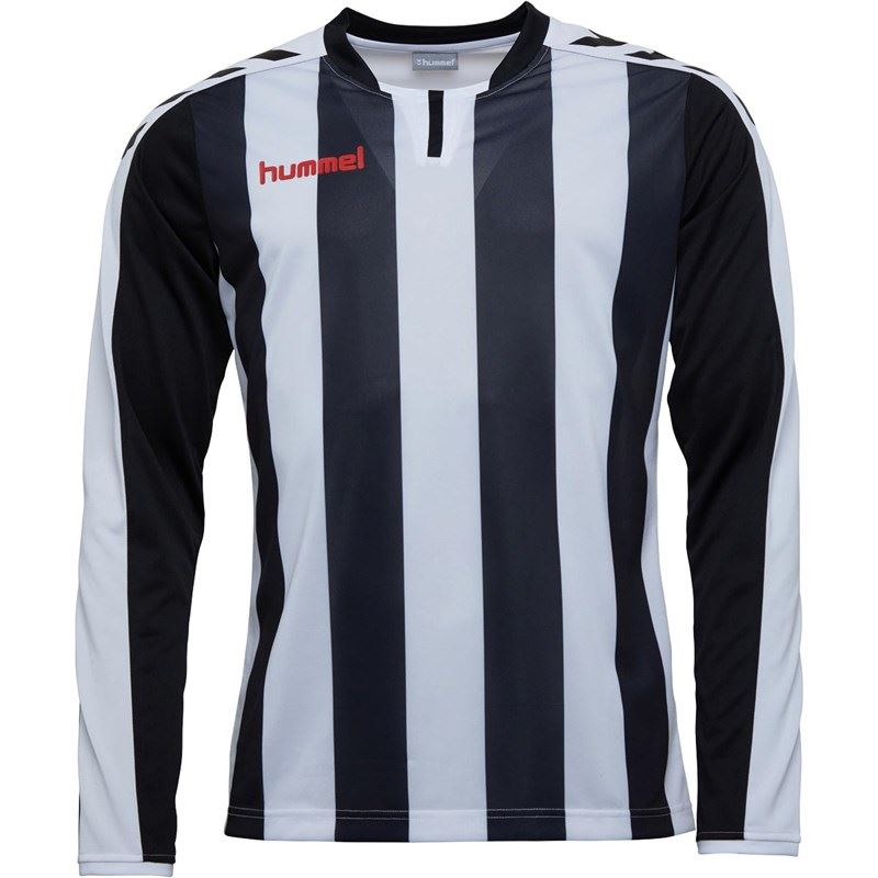 thumbnail 3 - Hummel-Long-Sleeve-Football-Shirt-Mens-Soccer-Jersey-Top-T-Shirt