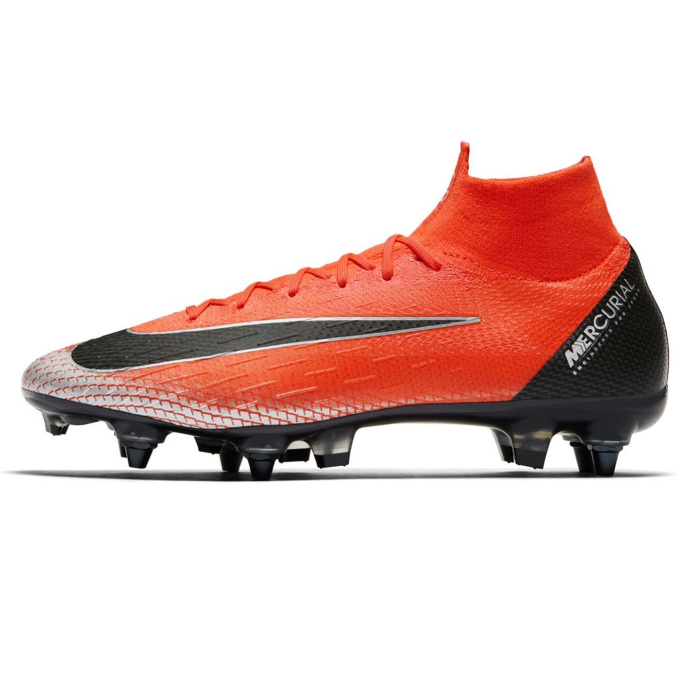 Nike Mercurial Superfly Elite CR7 DF SG Football Boots Mens Red Soccer  Cleats a49ba0ca45cfa