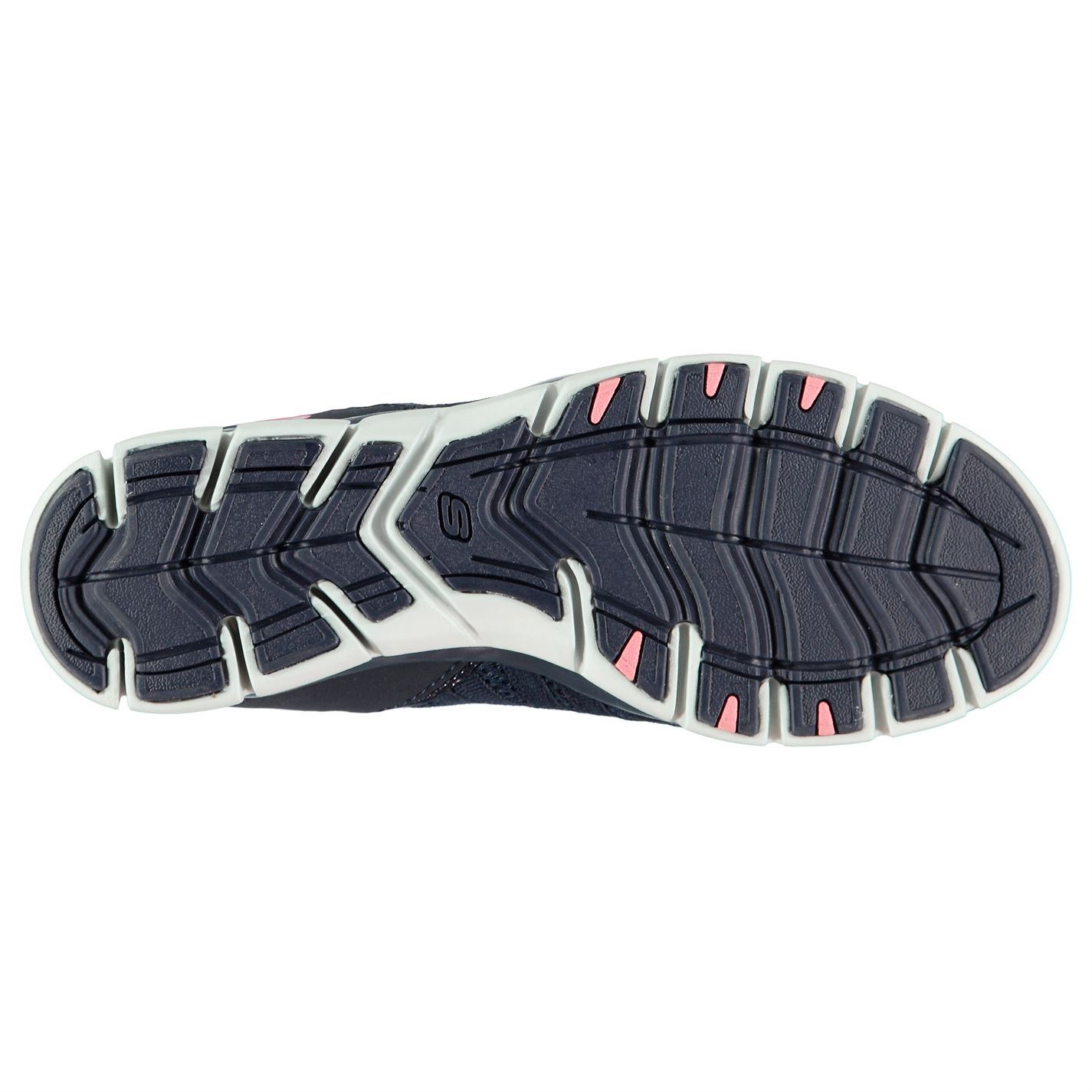 Trainers Skechers Love Womens Navy Ladies Blue Gratis coral Shoes Footwear qqpfCEx
