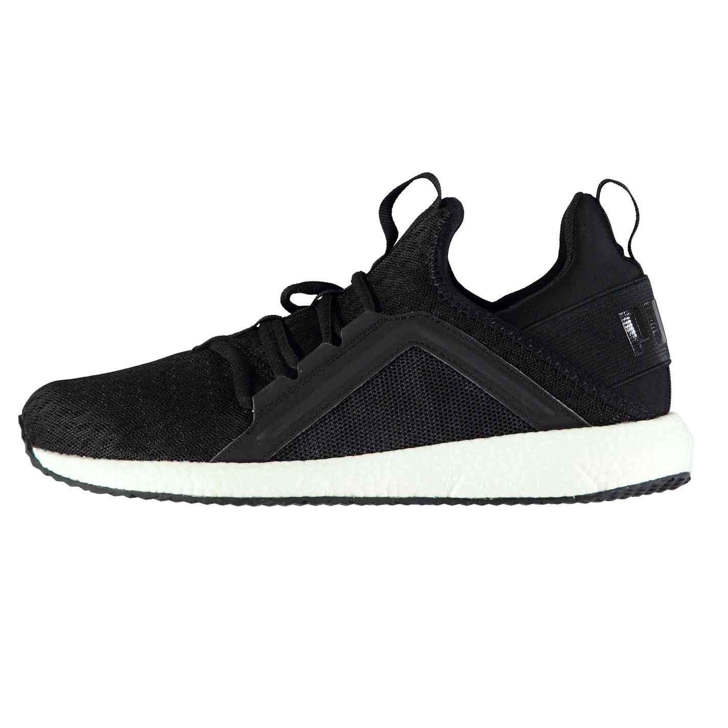 Details about Puma Mega NRGY Running Shoes Womens Black Run Jogging Trainers Sneakers