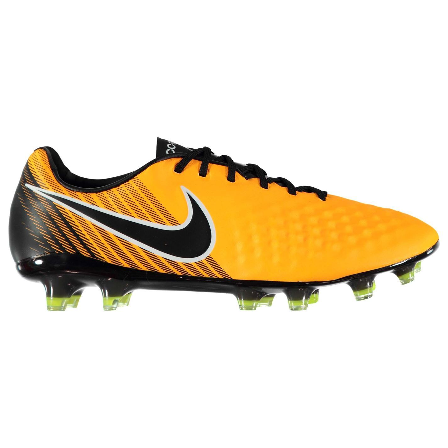 35a2d289e Details about Nike Magista Opus II Firm Ground Football Boots Mens Orange/ Black Soccer Cleats