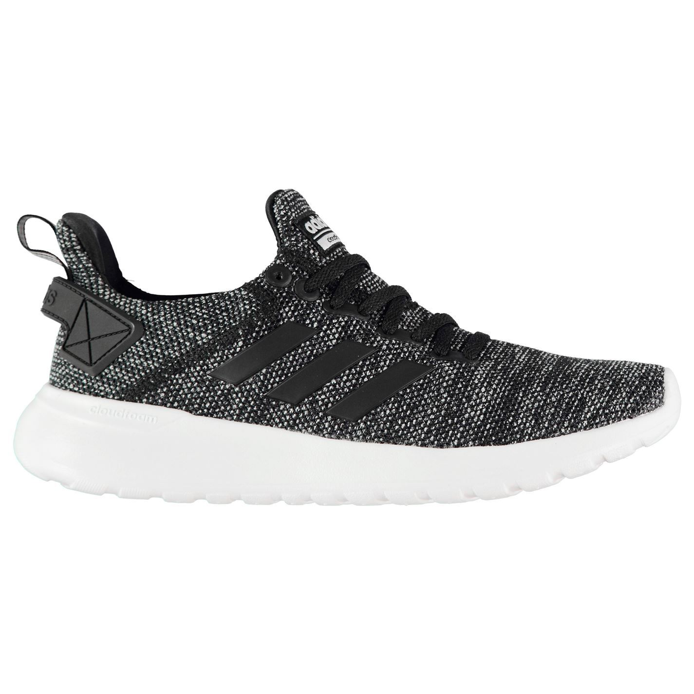 the best attitude 90204 bfd88 adidas Cloudfoam Lite Racer BYD Trainers Mens Black White Sports Shoes  Sneakers