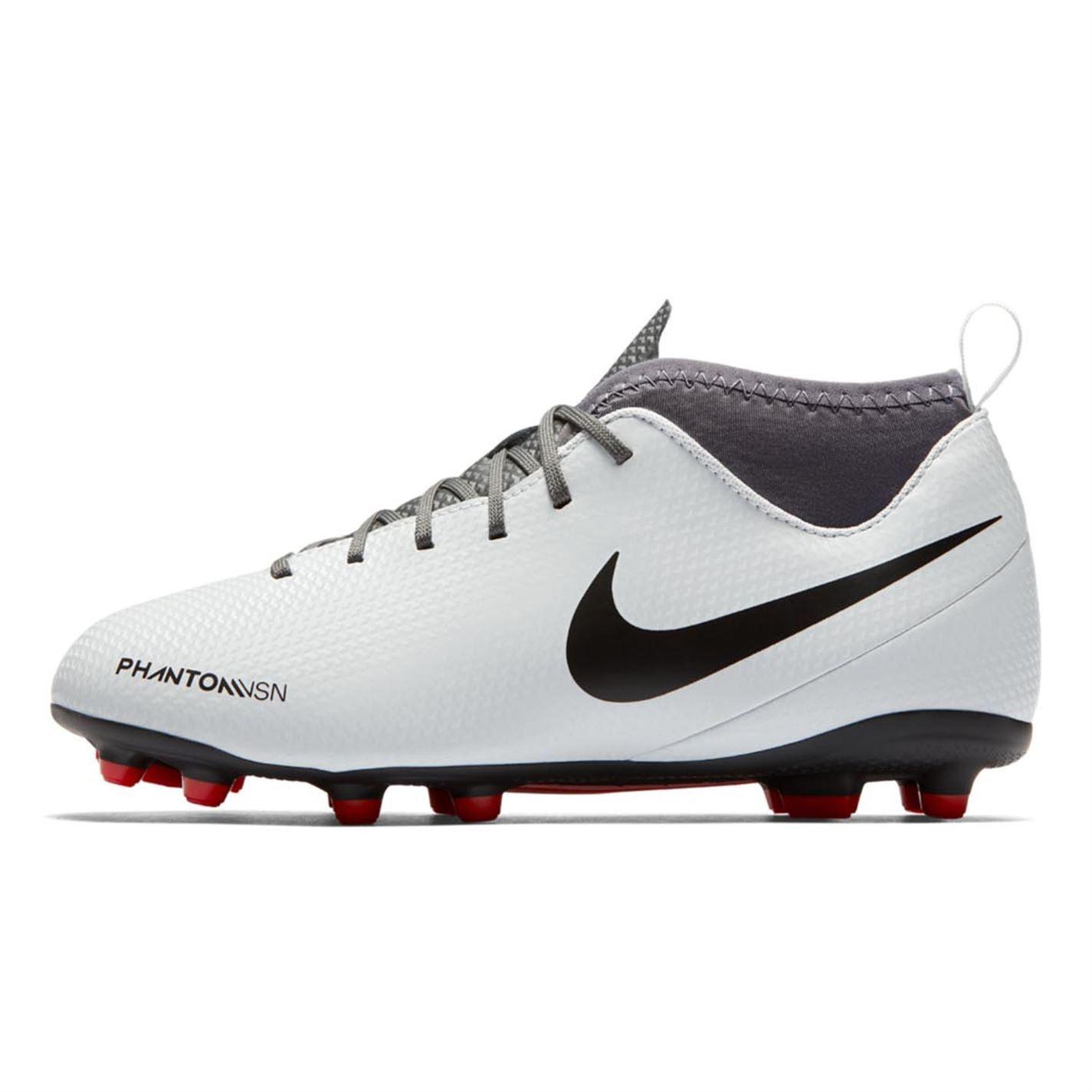 miniature 12 - Nike-Phantom-Vision-Club-DF-FG-Firm-Ground-Chaussures-De-Football-Juniors-Football-Crampons