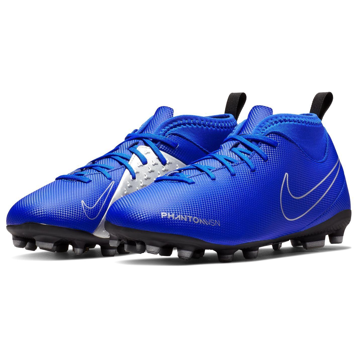 miniature 7 - Nike-Phantom-Vision-Club-DF-FG-Firm-Ground-Chaussures-De-Football-Juniors-Football-Crampons