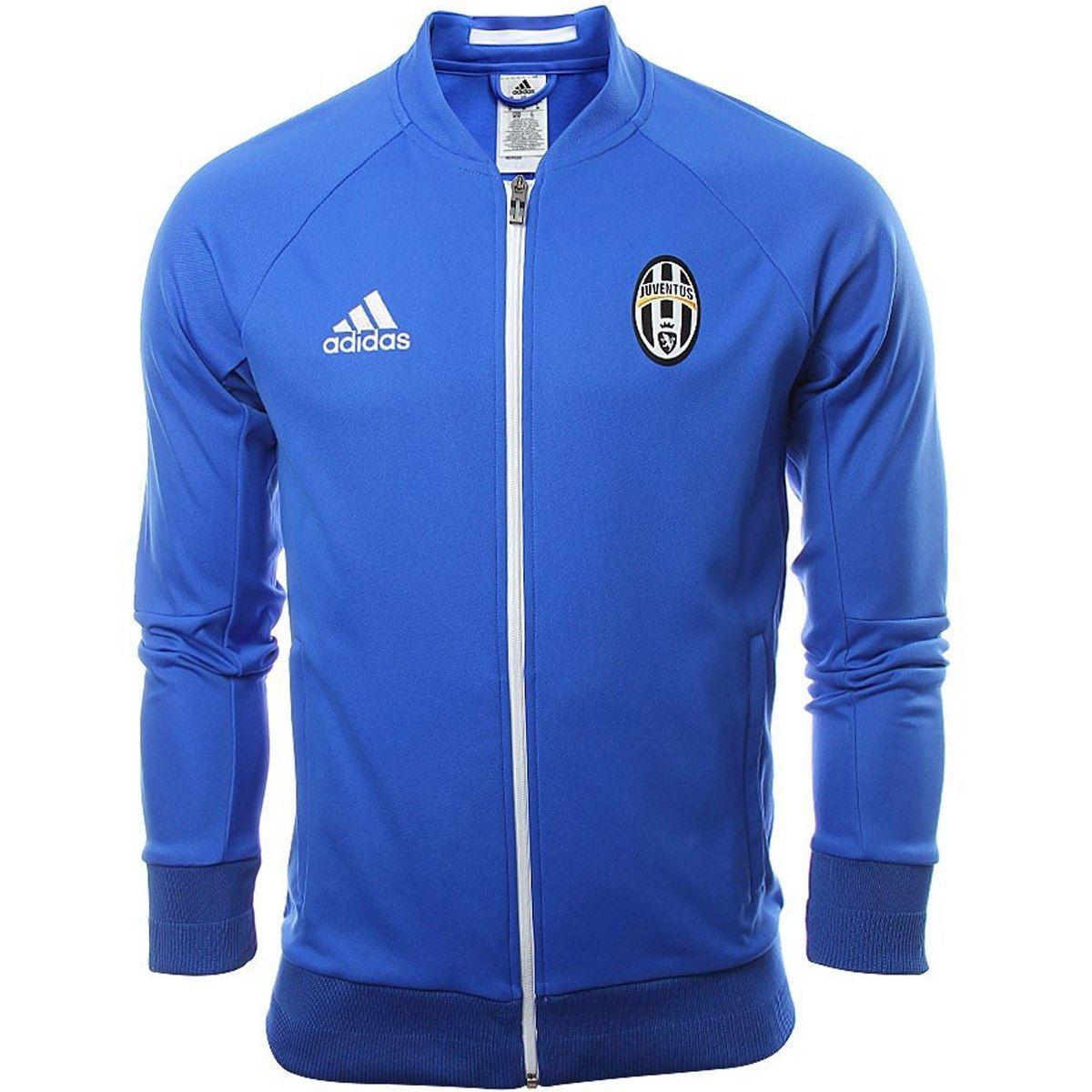 1752823ec Juventus Anthem Jacket Blue Mens Football Soccer Tracksuit Track Top ...