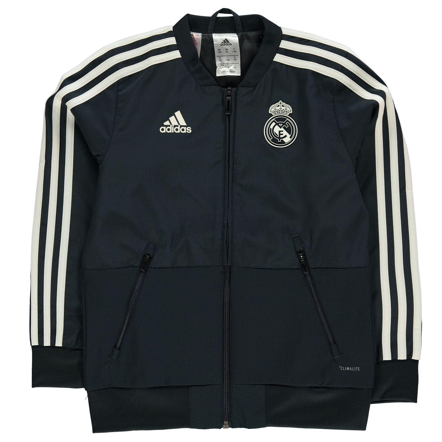 Adidas kids maglia da allenamento madrid e Chelsea FC Felpa