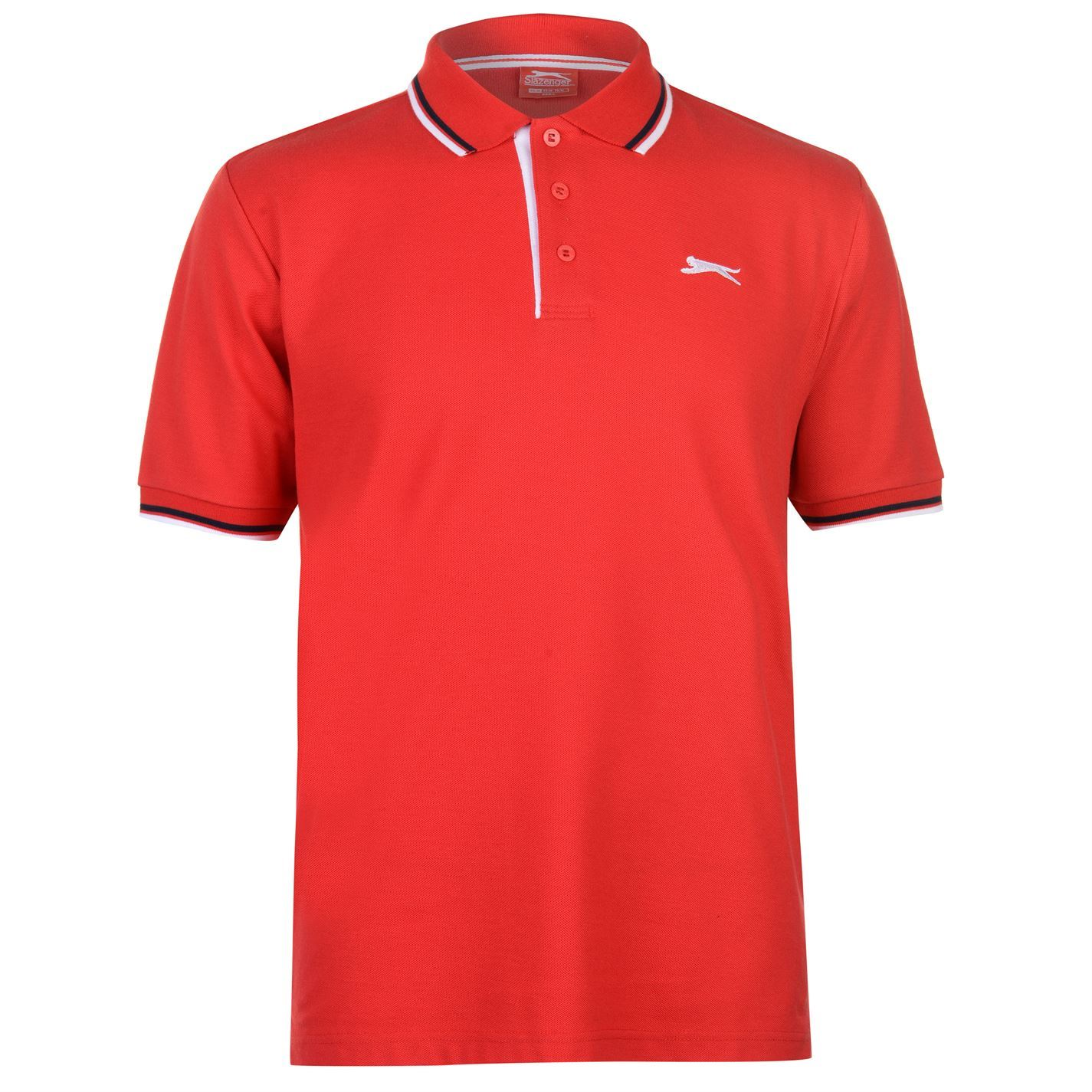 Slazenger-Polo-Camisa-de-hombre-con-cuello-con-Punta-T-Shirt-Top-Camiseta-Tee miniatura 31
